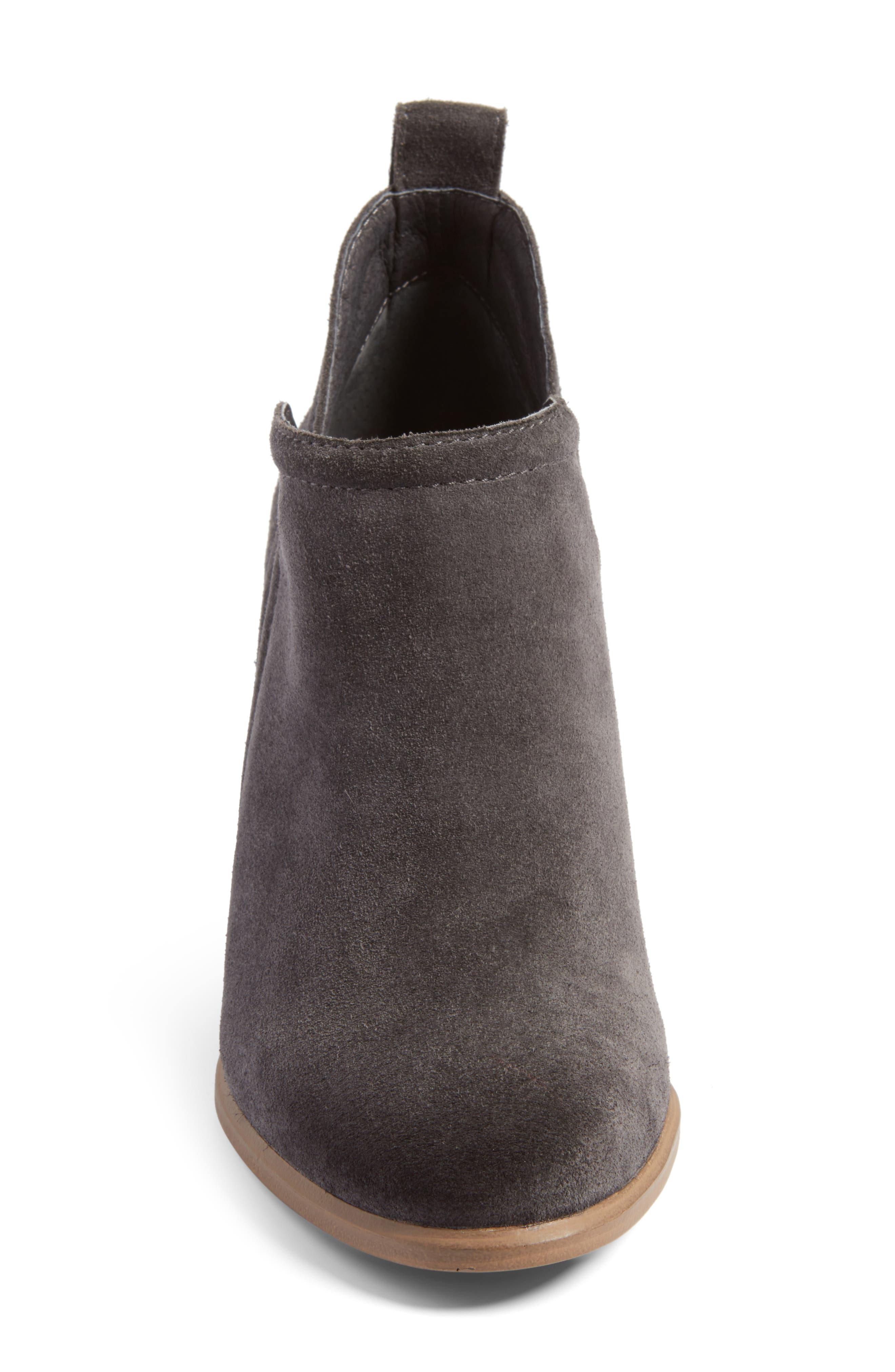Francia Bootie,                             Alternate thumbnail 4, color,                             Granite Peak