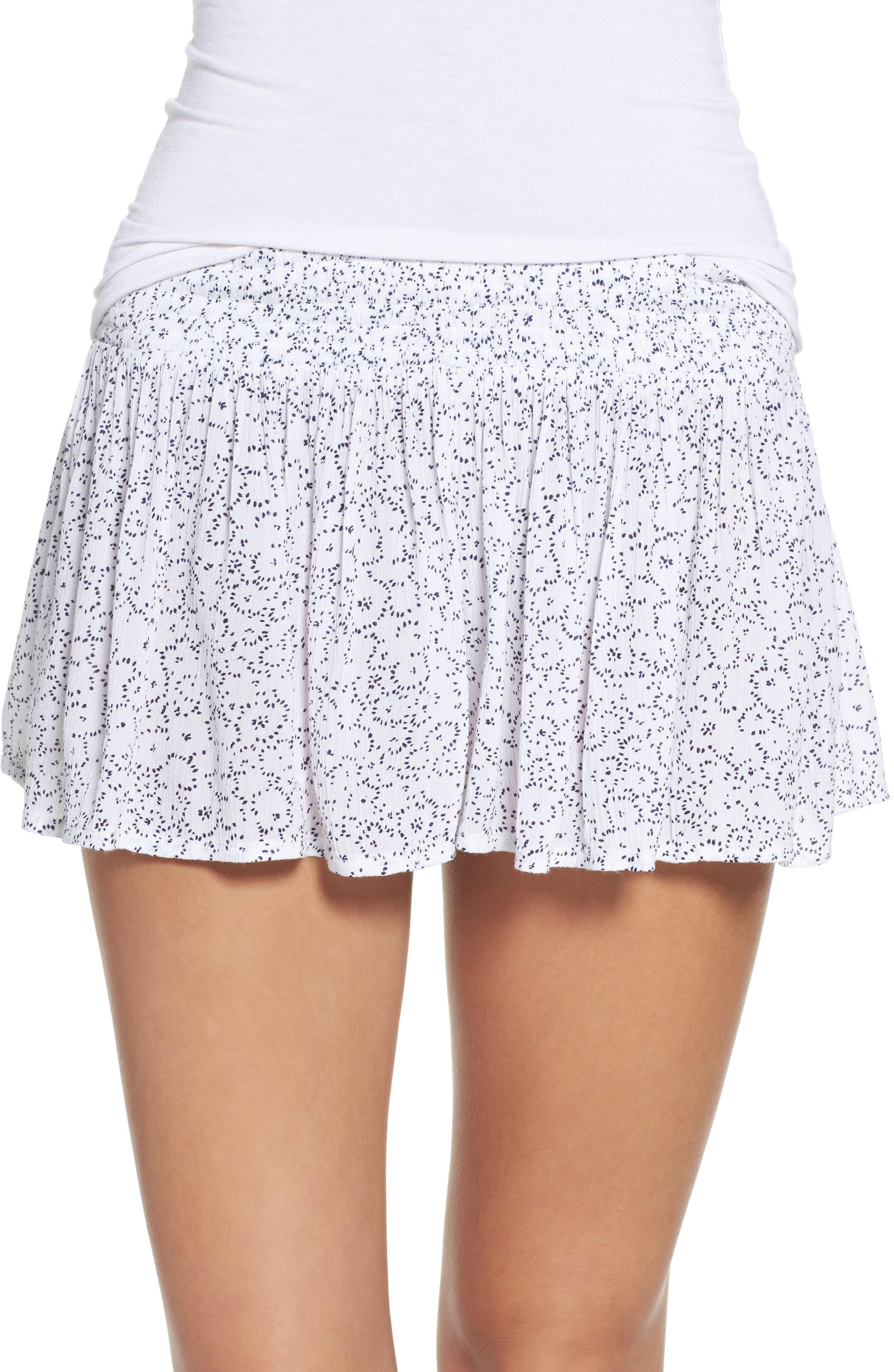 Make + Model Flirty Crinkle Lounge Shorts