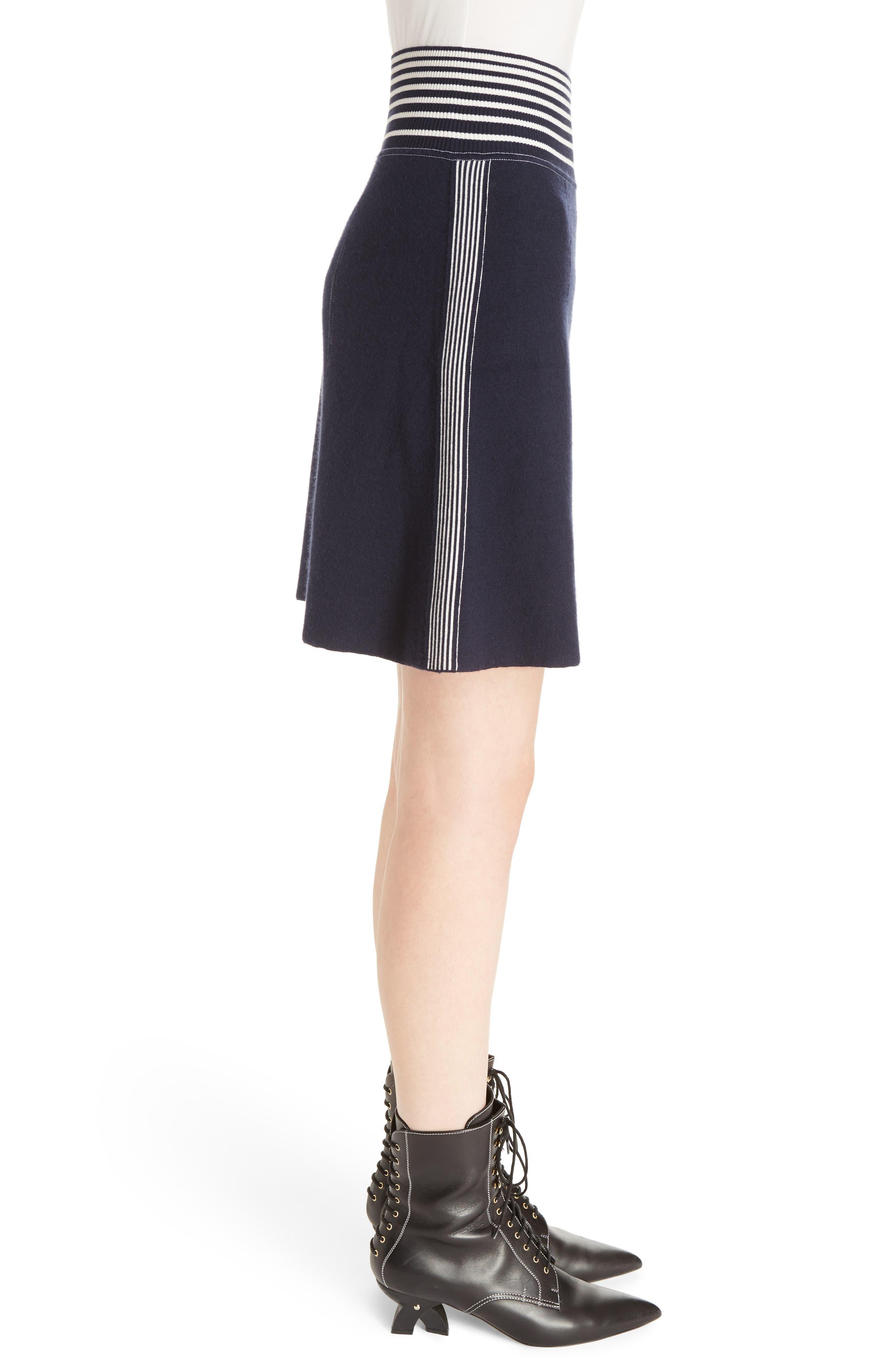 Alternate Image 4  - Loewe Stripe Knit Skirt