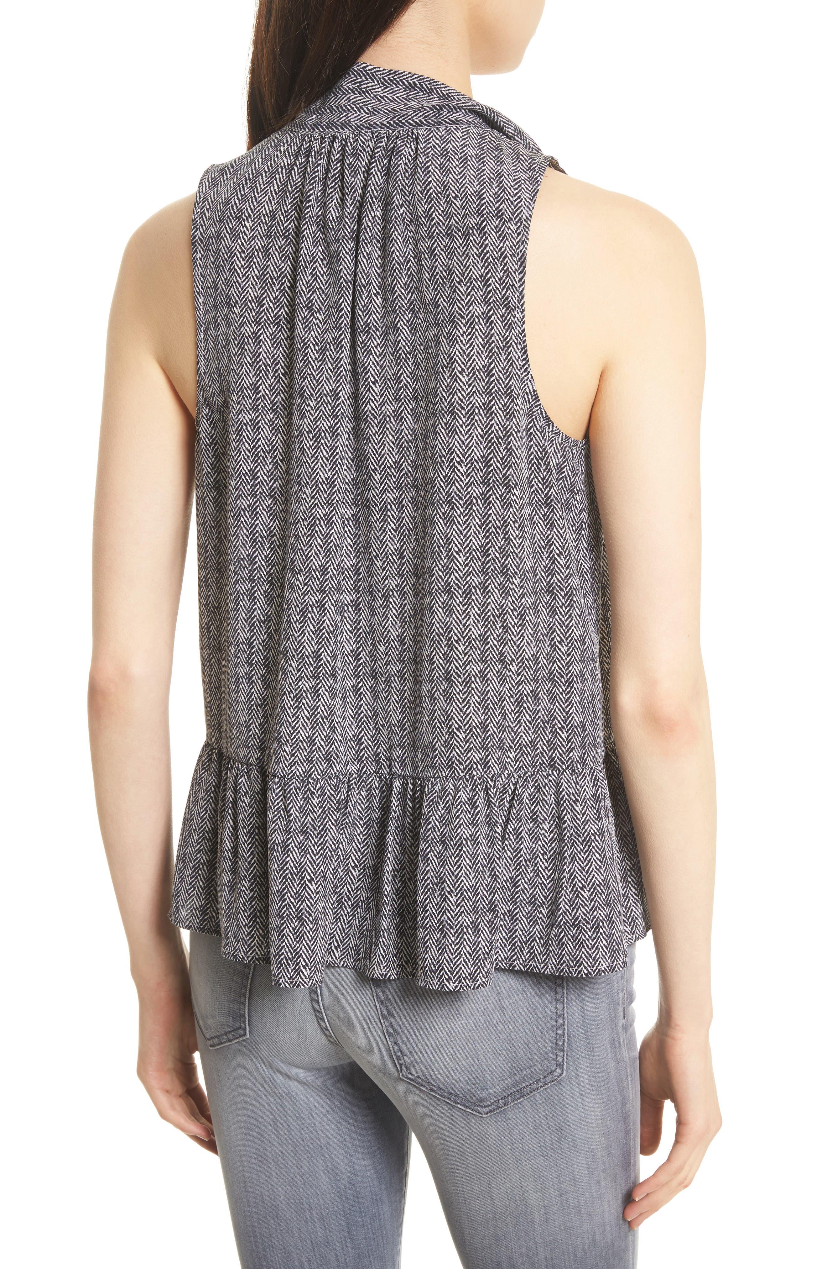 Alternate Image 2  - Joie Estero Sleeveless Silk Top
