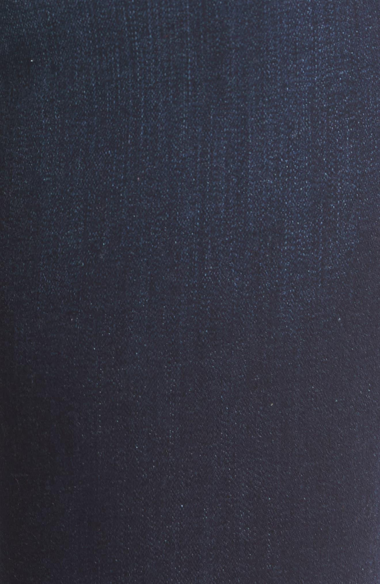 Florence Instasculpt Skinny Jeans,                             Alternate thumbnail 6, color,                             Crux