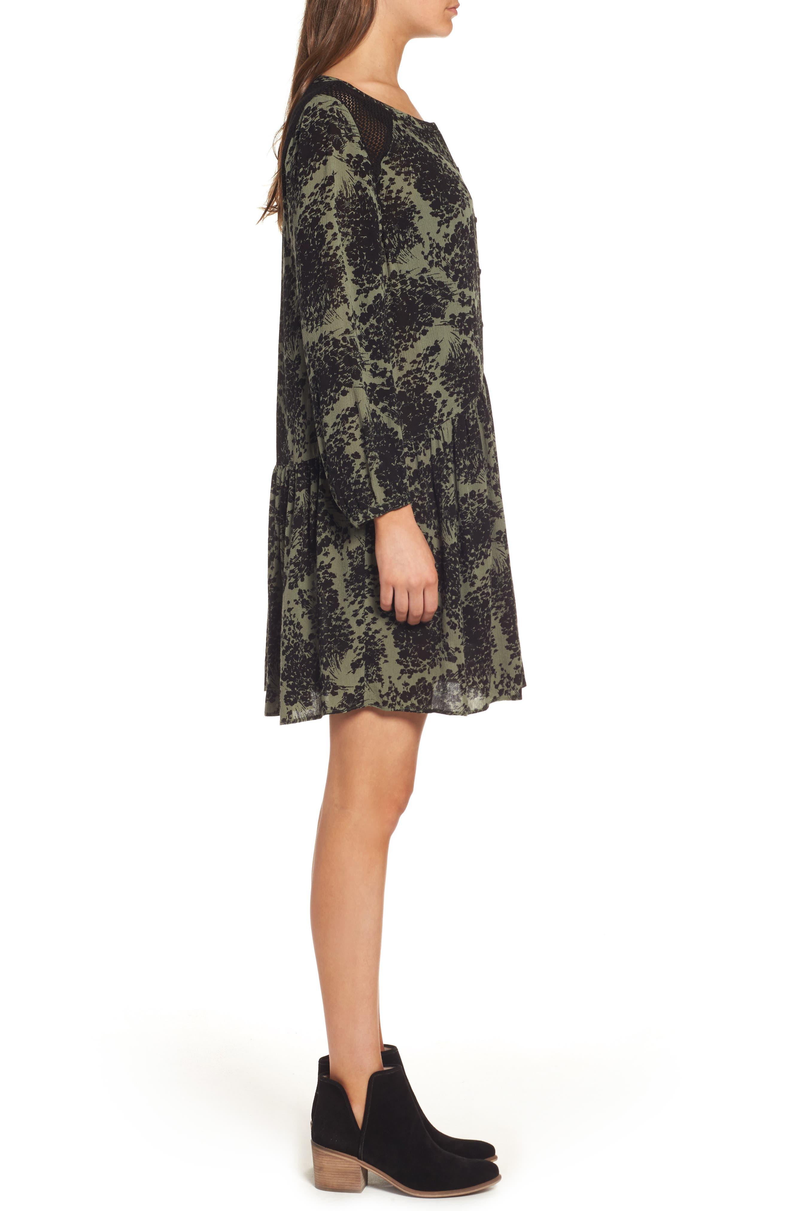 Alternate Image 3  - Hinge Button Front Dress