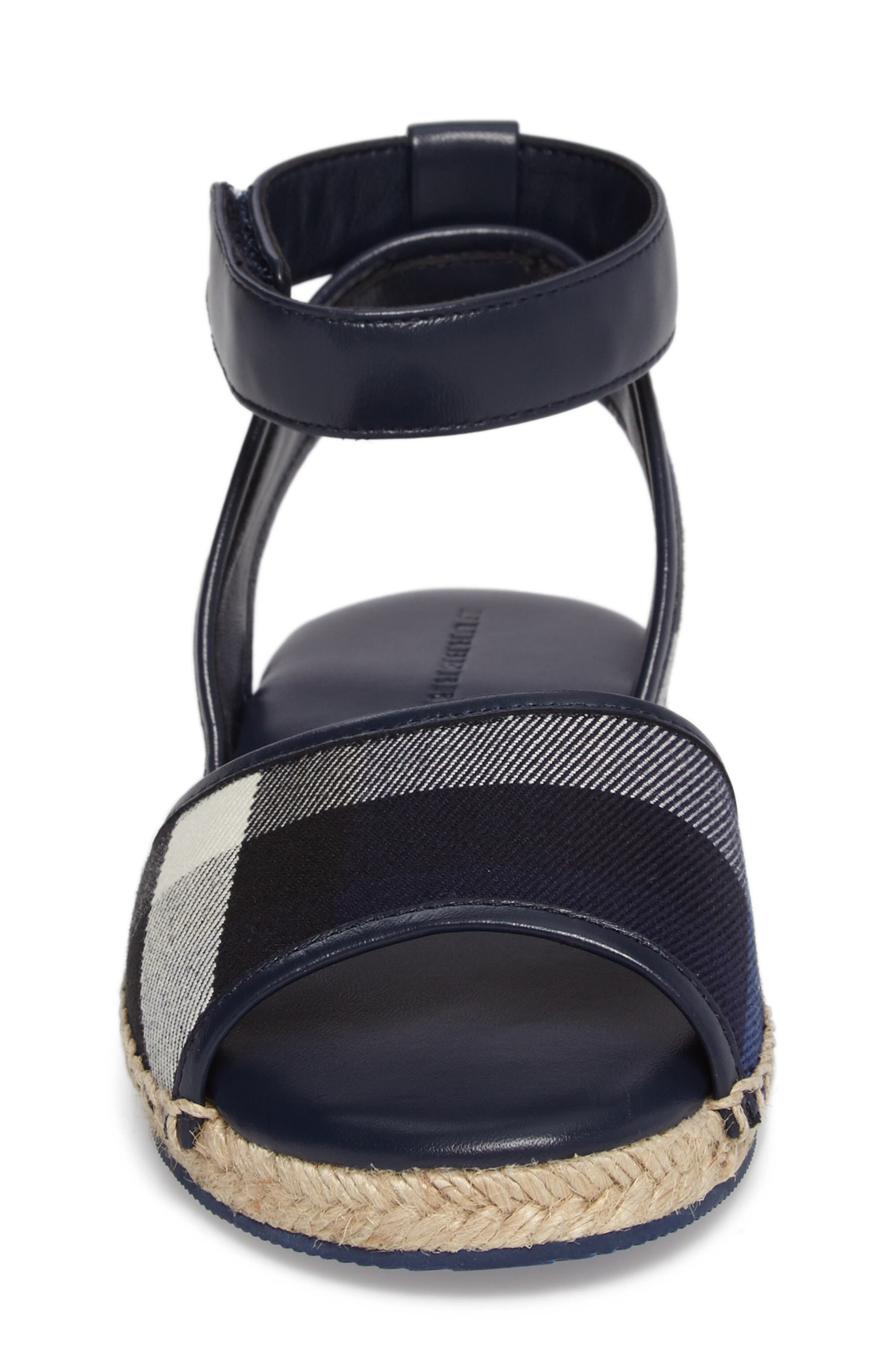 Alternate Image 4  - Burberry Livvy Ankle Strap Sandal (Walker, Toddler & Little Kid)