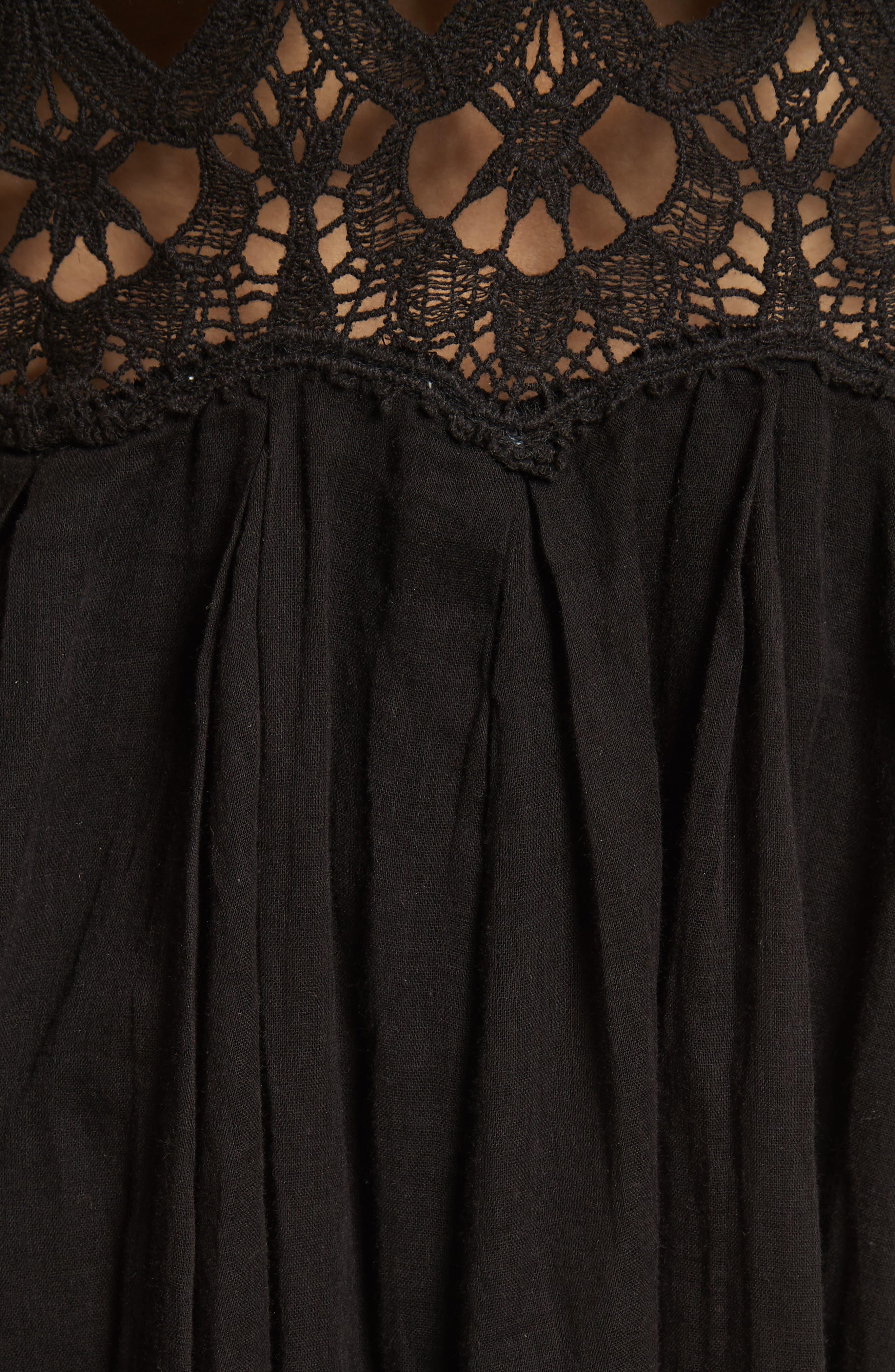 Alternate Image 5  - Free People Ilektra Lace Minidress
