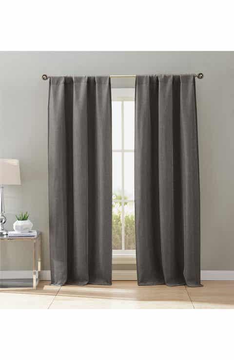 Duck River Textile Maeve Set Of 2 Blackout Pole Top Window Panels