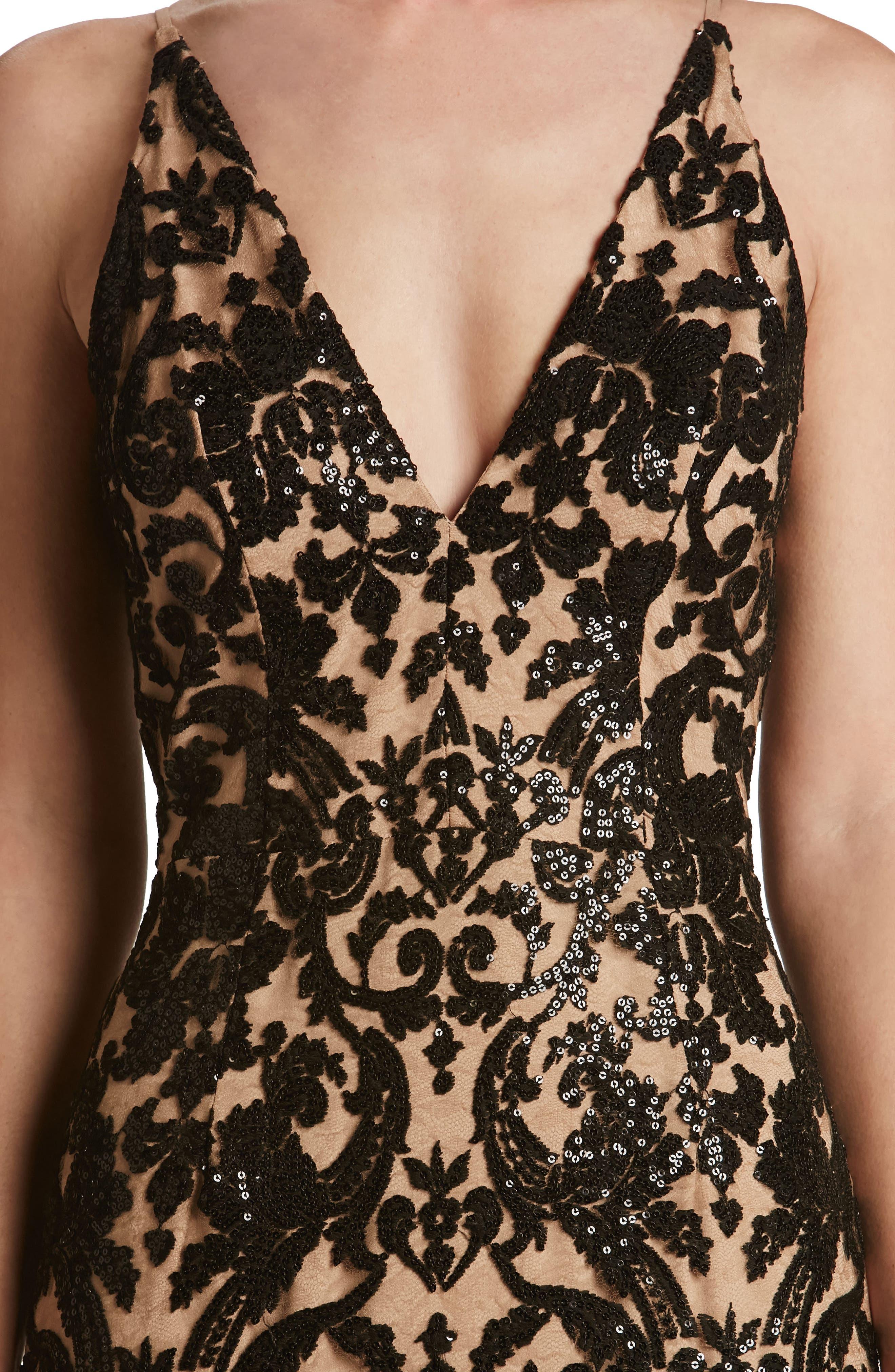 Alternate Image 5  - Dress the Population Karen Mermaid Gown
