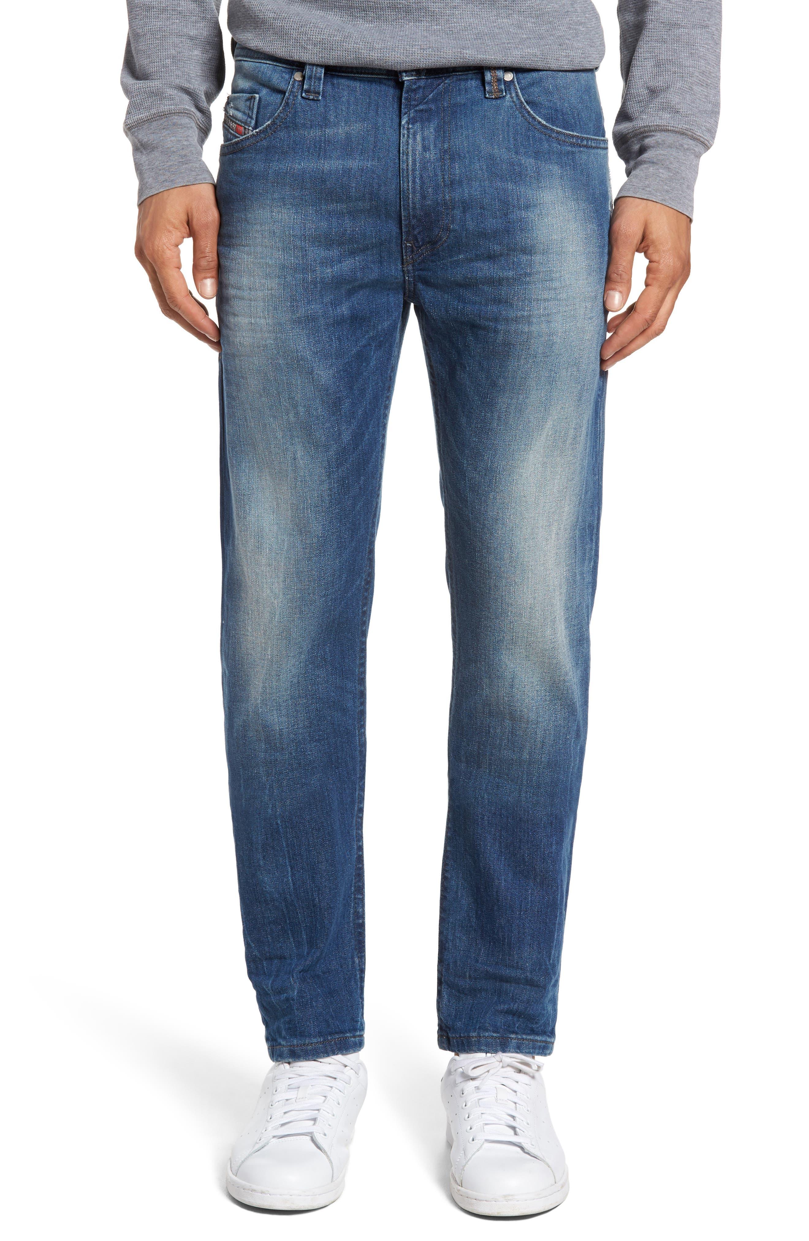 Alternate Image 1 Selected - DIESEL® Thommer Slim Fit Jeans (C84IE)