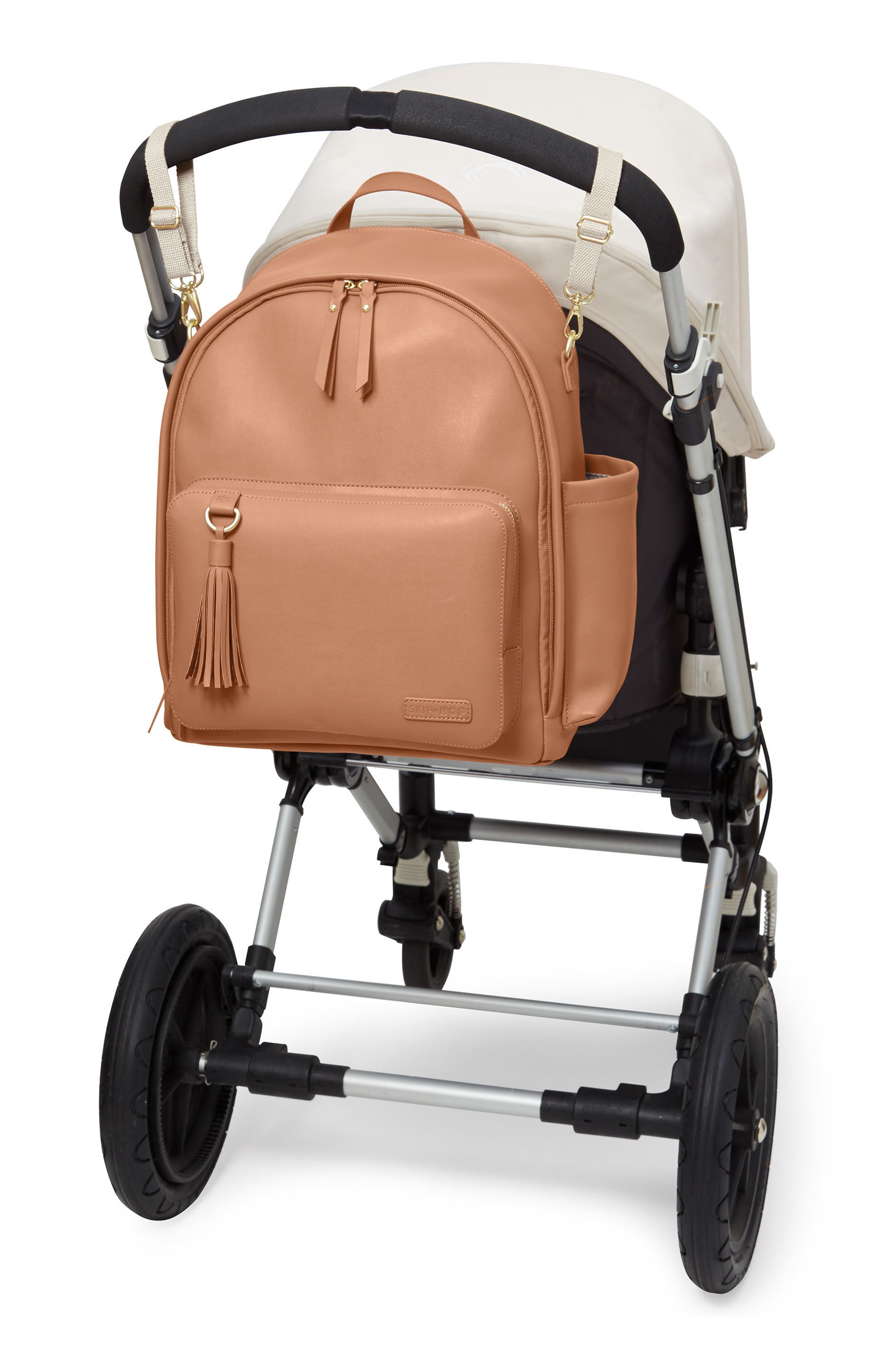 Alternate Image 5  - Skip Hop Greenwich Simply Chic Diaper Backpack