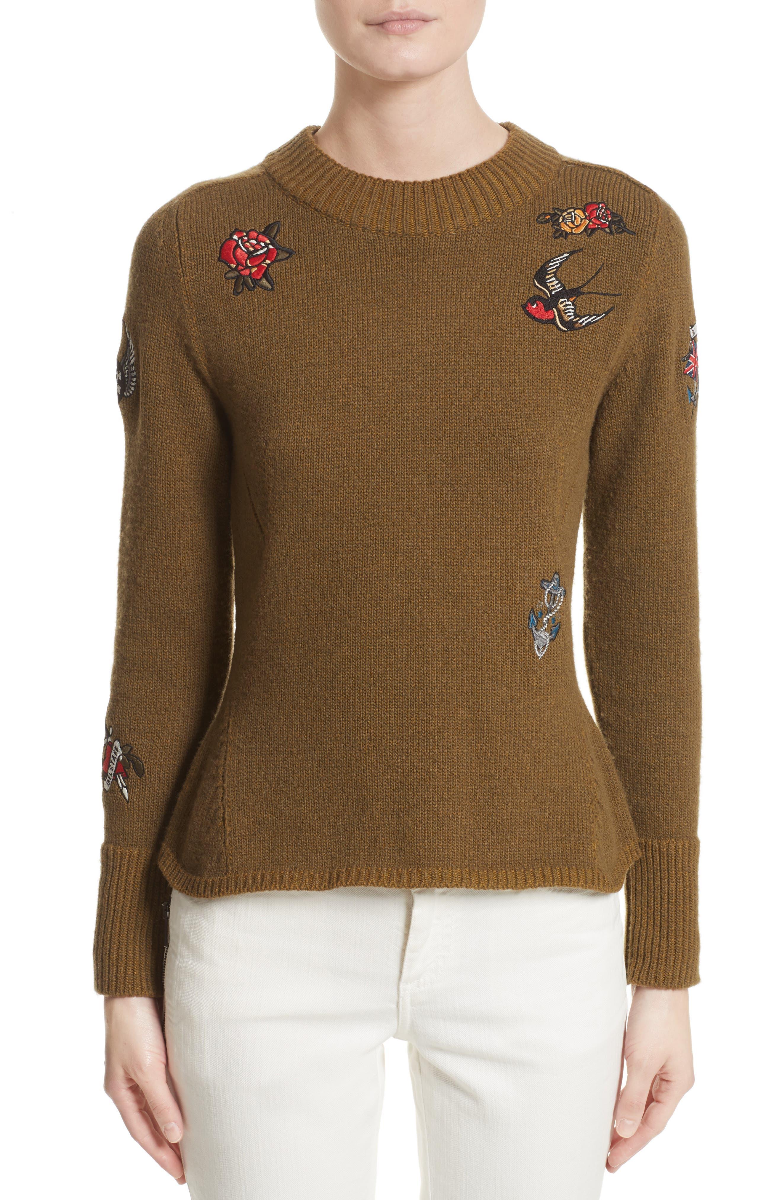 Belstaff Simeron Appliqué Sweater