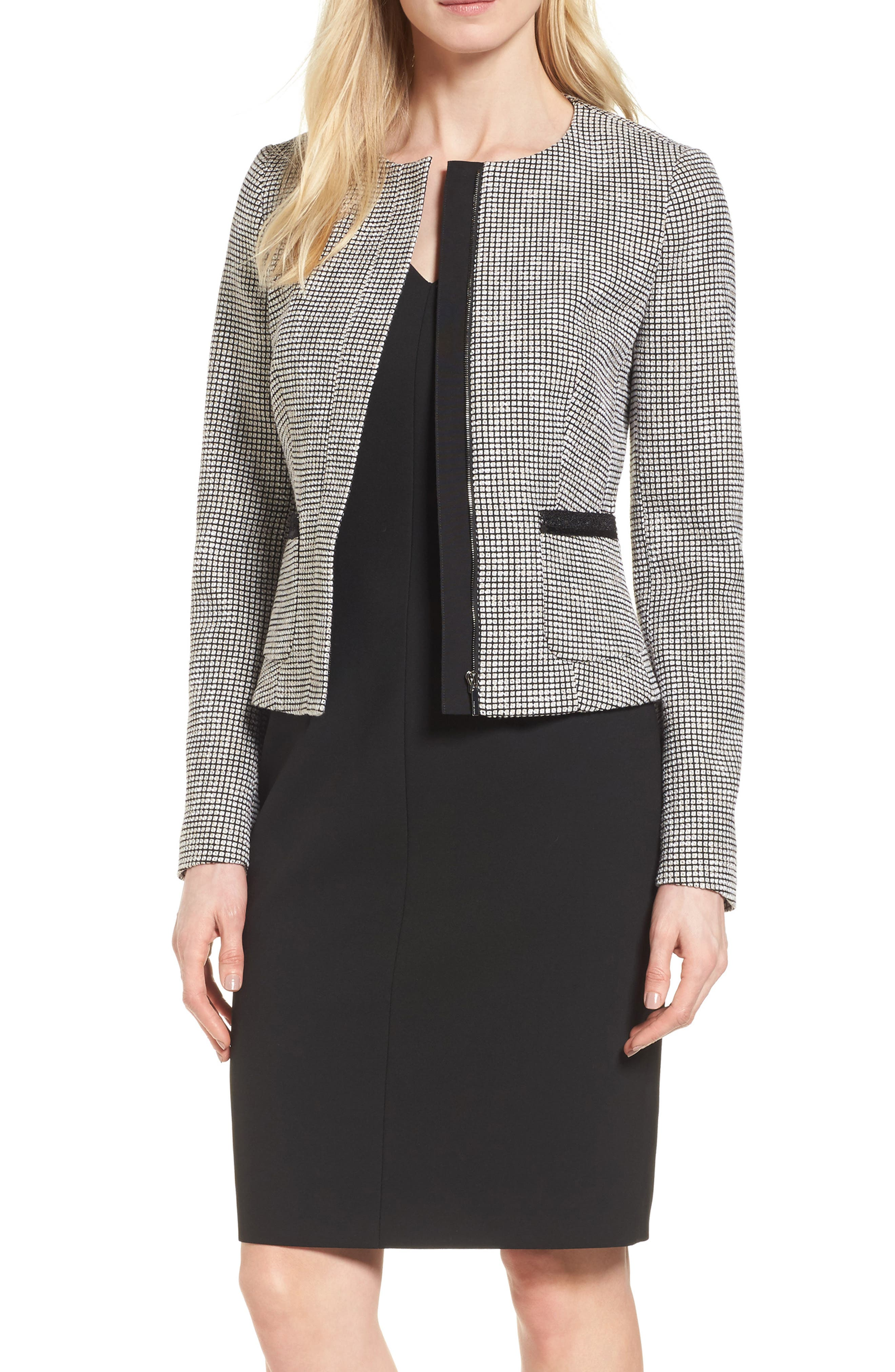 BOSS Kabira Tweed Jacket