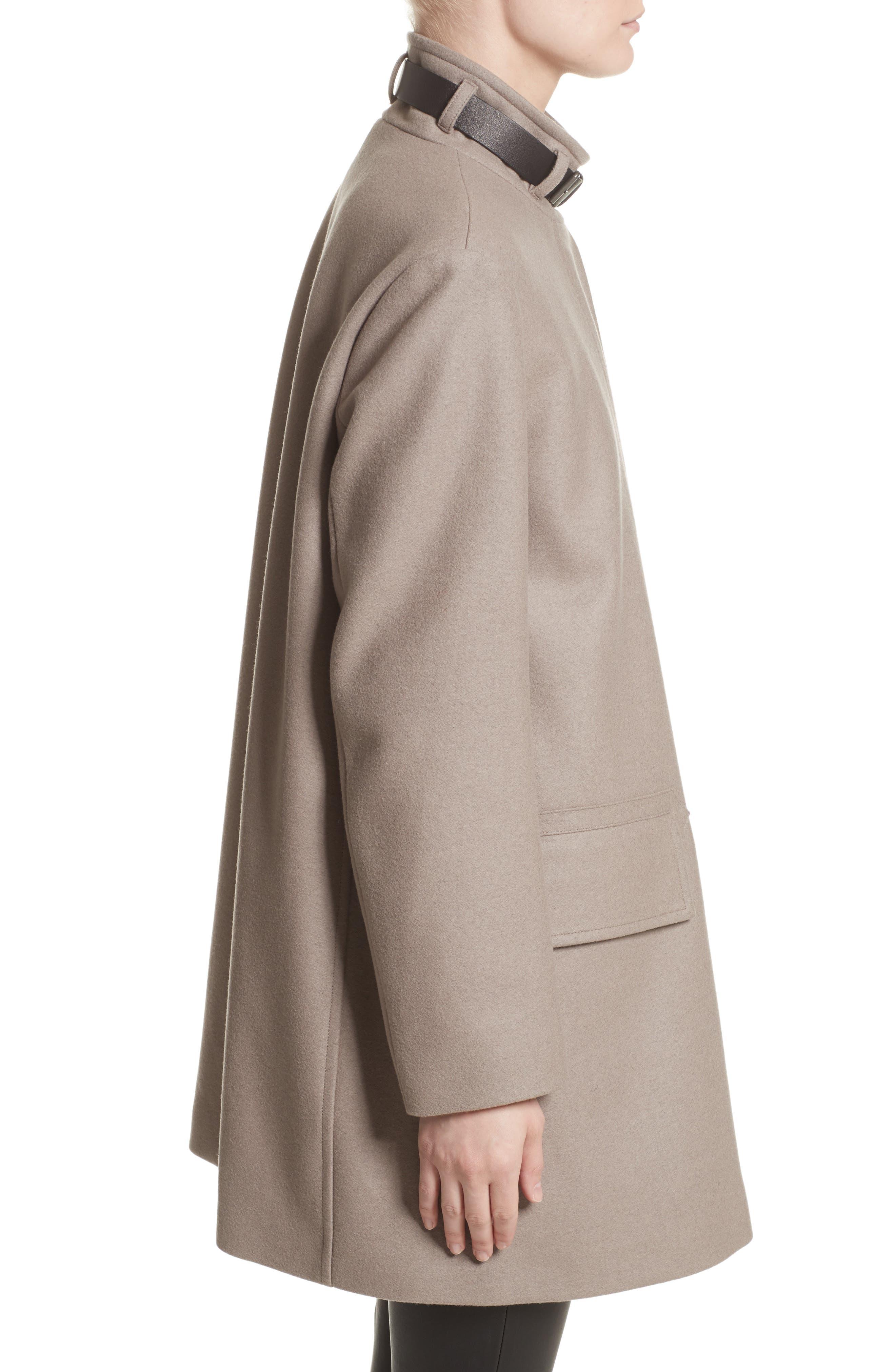 Alternate Image 5  - Belstaff Moryah Wool Blend Coat