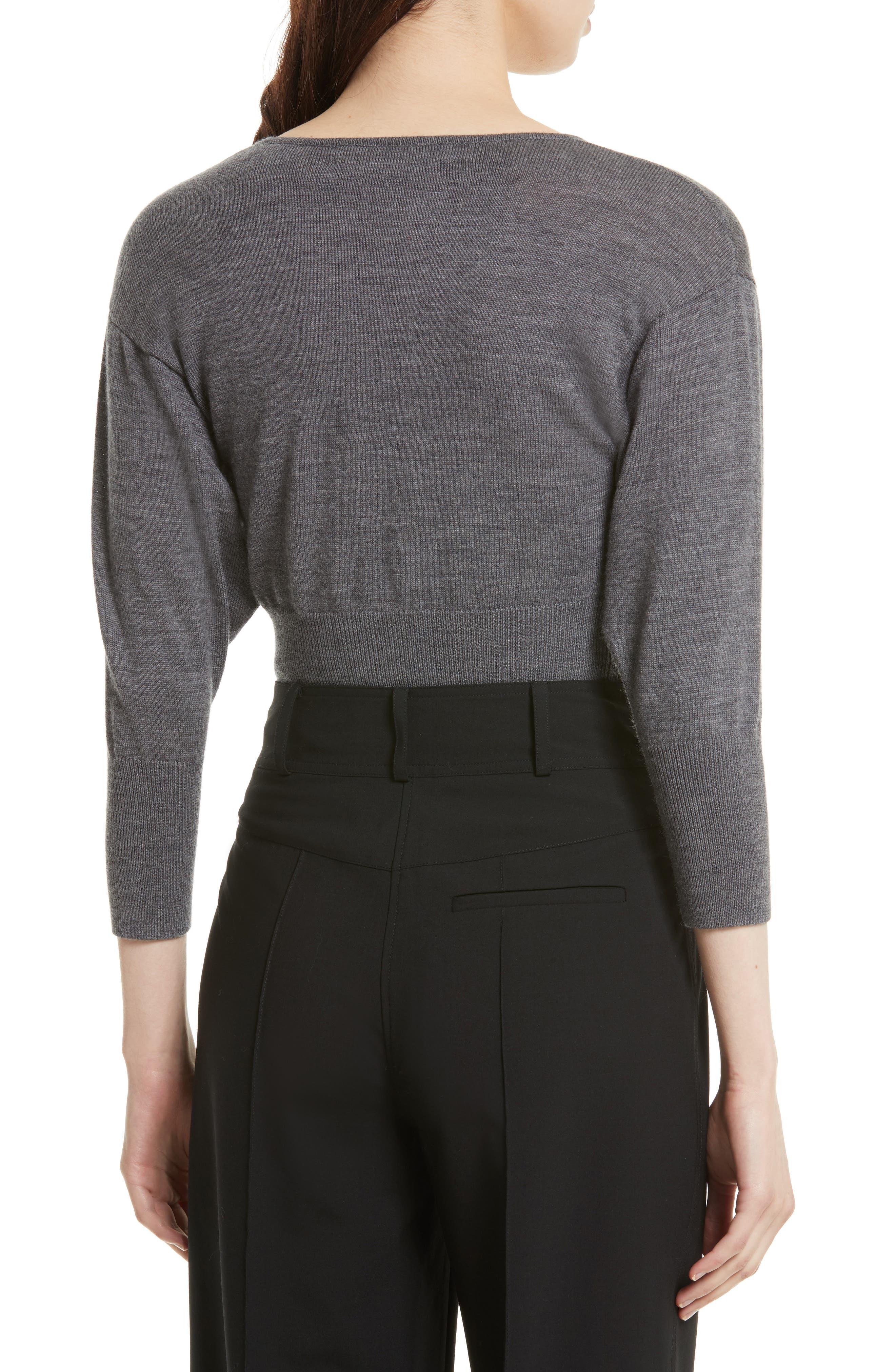 Alternate Image 3  - Diane von Furstenberg Merino Crop Sweater