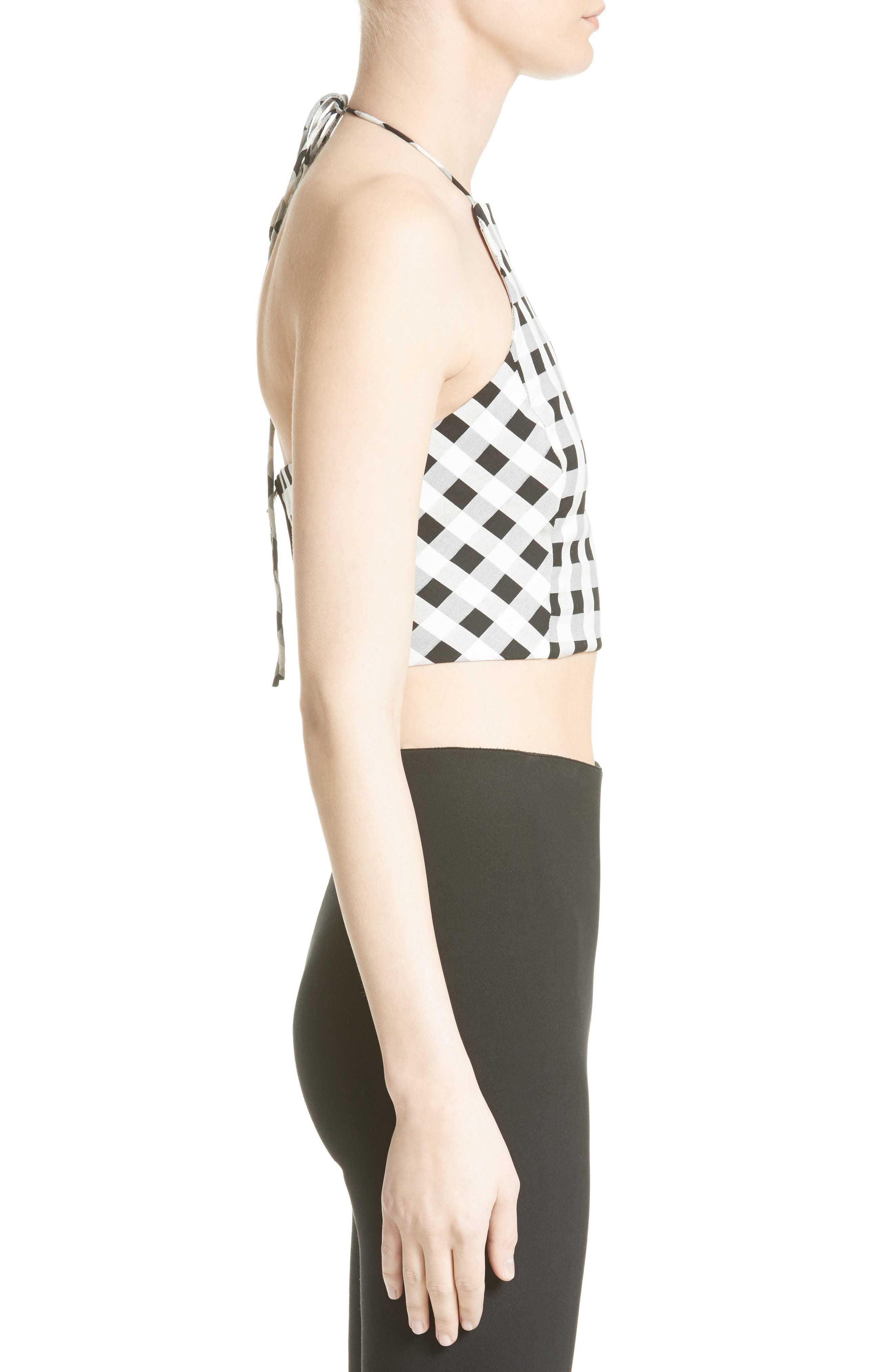 Alternate Image 4  - rag & bone Nevada Crop Halter Top