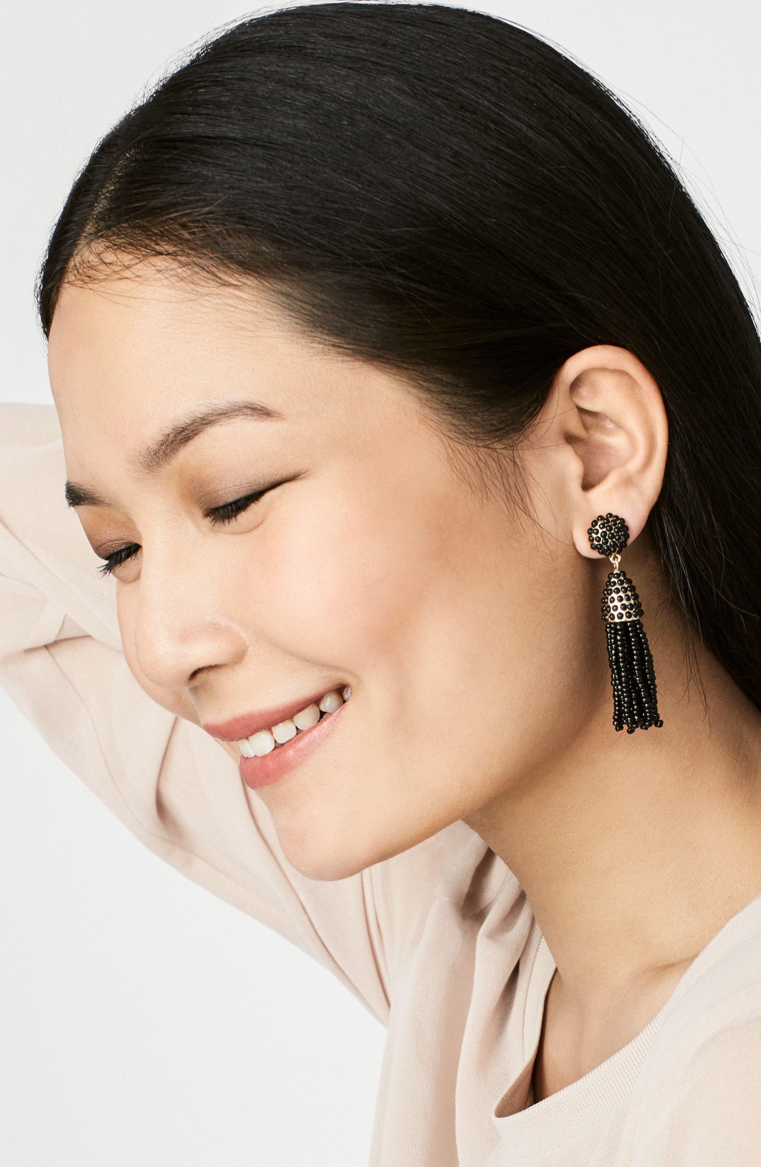 Alternate Image 2  - BaubleBar Mini Pinata Tassel Drop Earrings