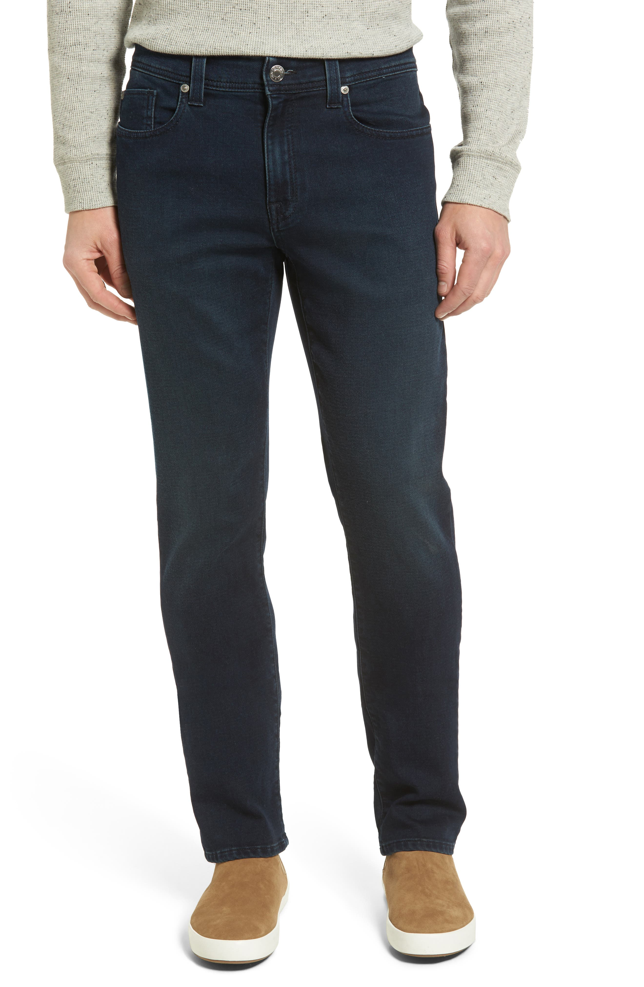 Jimmy Slim Straight Leg Jeans,                             Main thumbnail 1, color,                             Oxy Midnight
