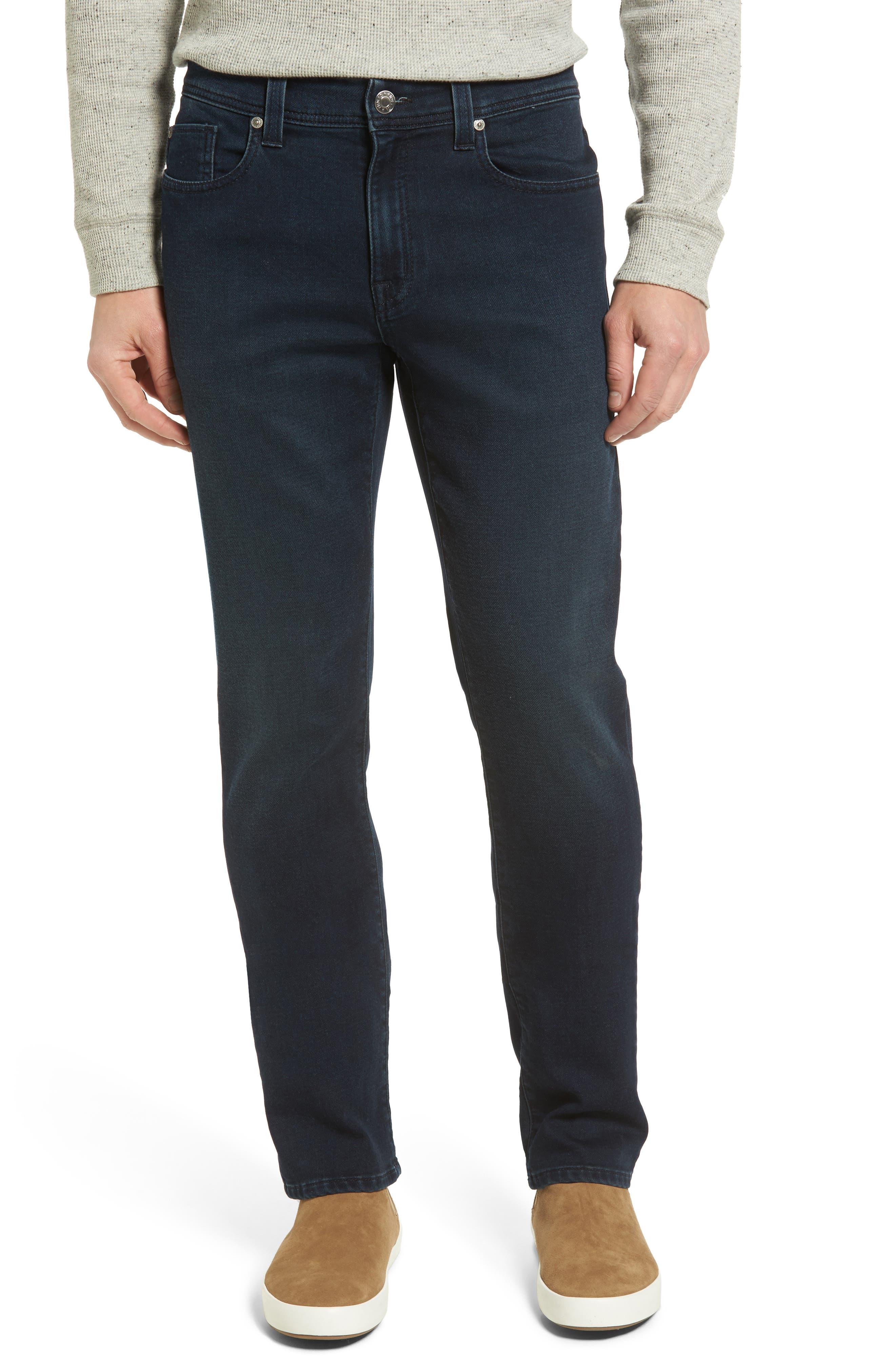 Main Image - Fidelity Denim Jimmy Slim Straight Leg Jeans (Oxy Midnight)