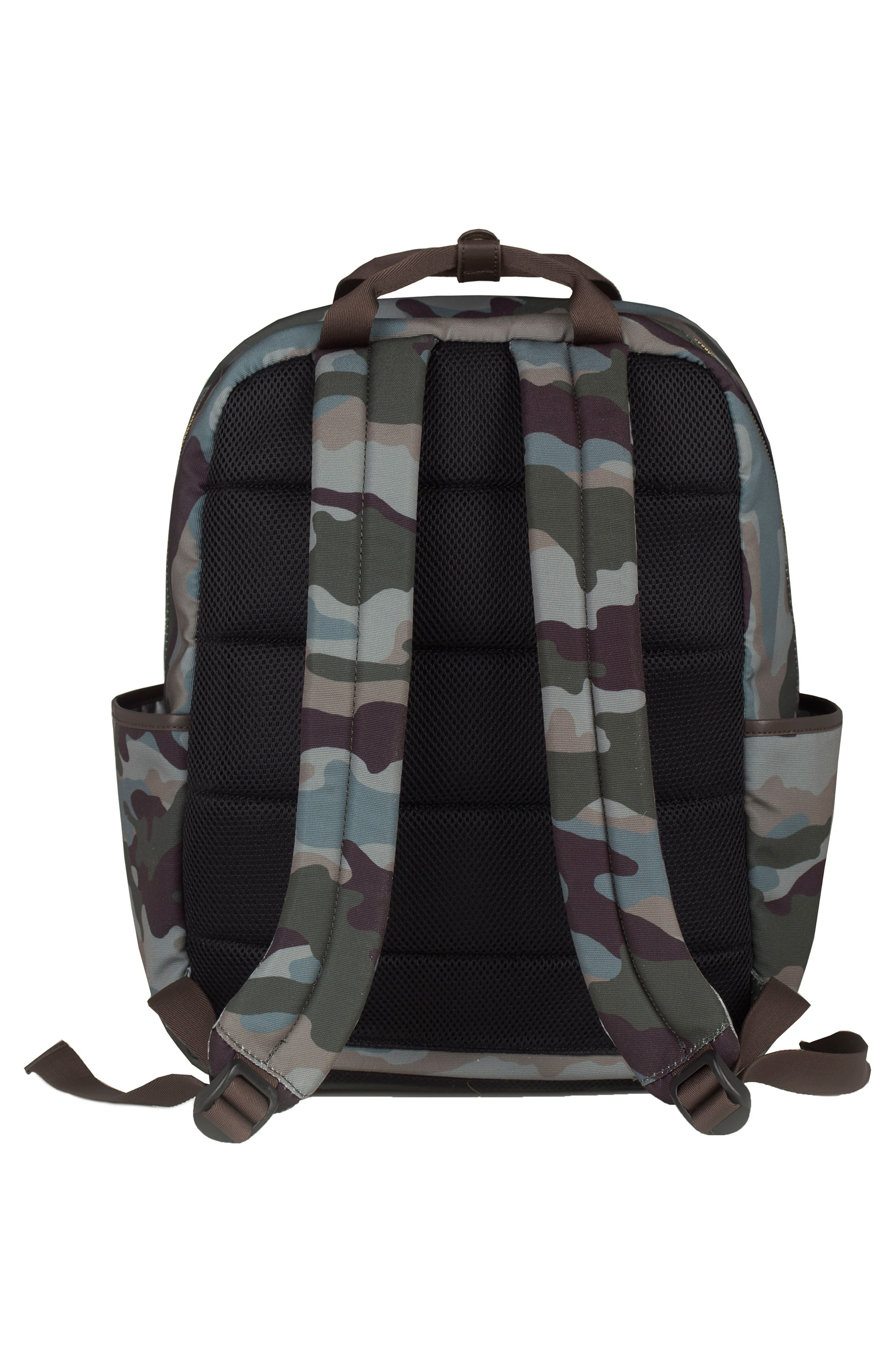 'Courage' Unisex Backpack Diaper Bag,                             Alternate thumbnail 2, color,                             Camouflage Print