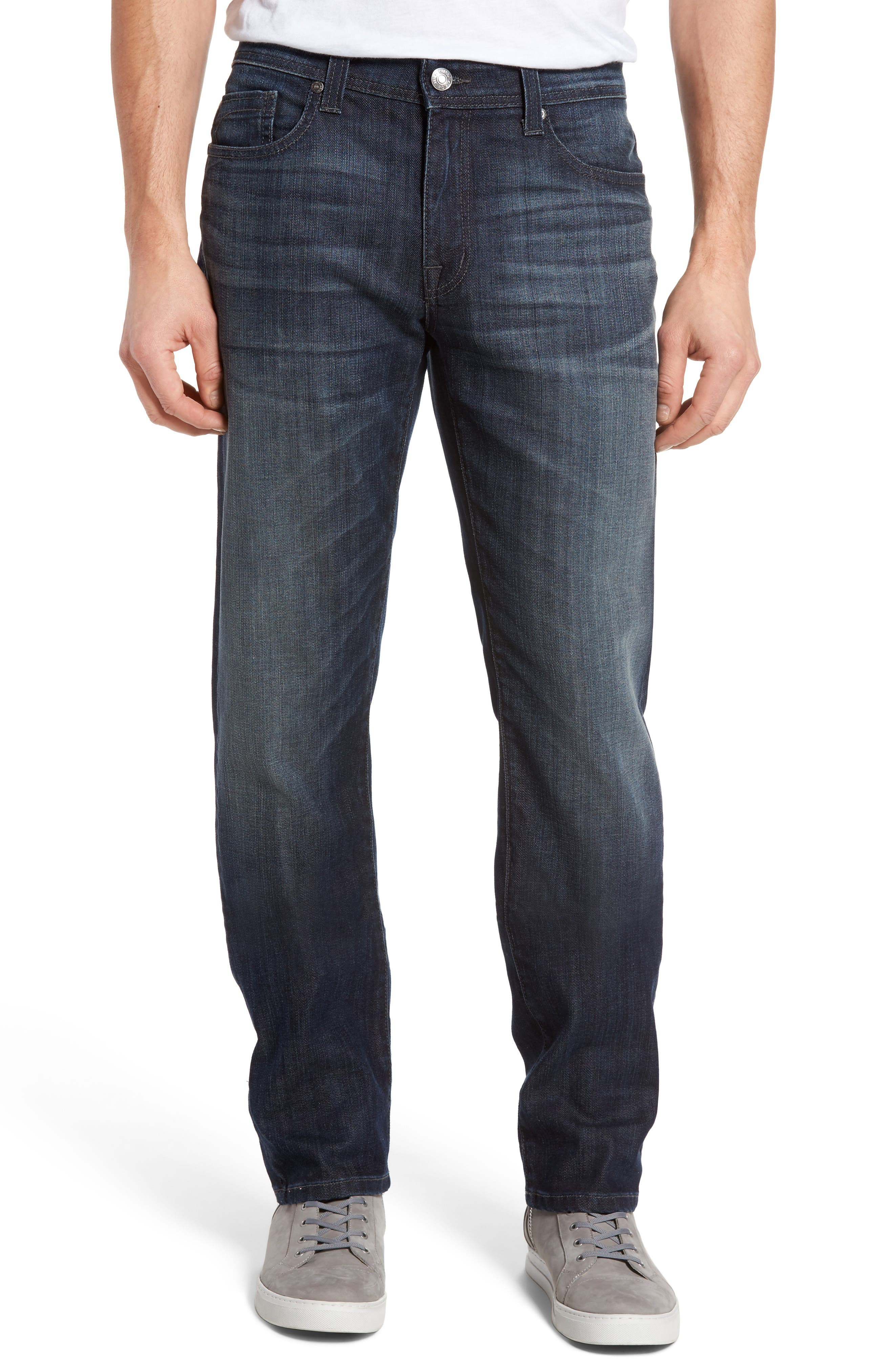 Fidelity Denim Jimmy Slim Straight Leg Jeans (Scorpion)