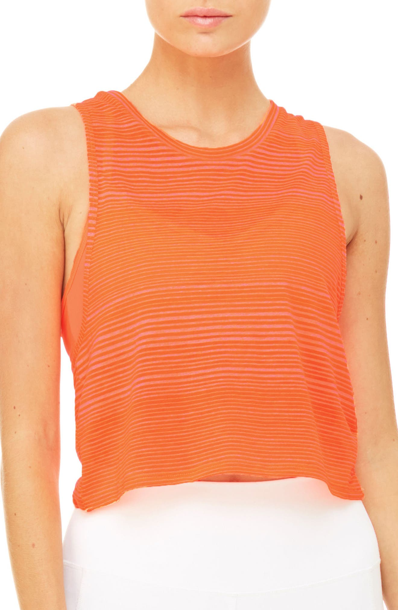 Alternate Image 1 Selected - Alo Track Crop Tank