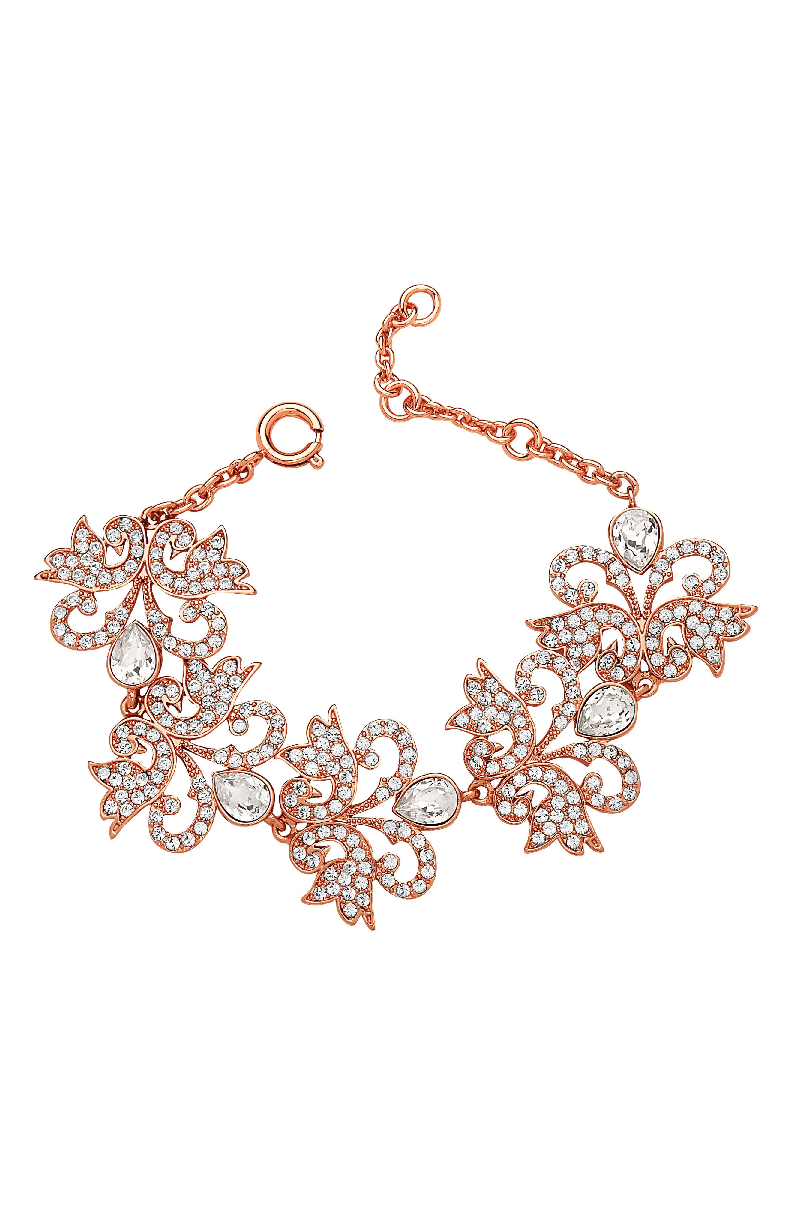 NINA Art Nouveau Chandelier Bracelet