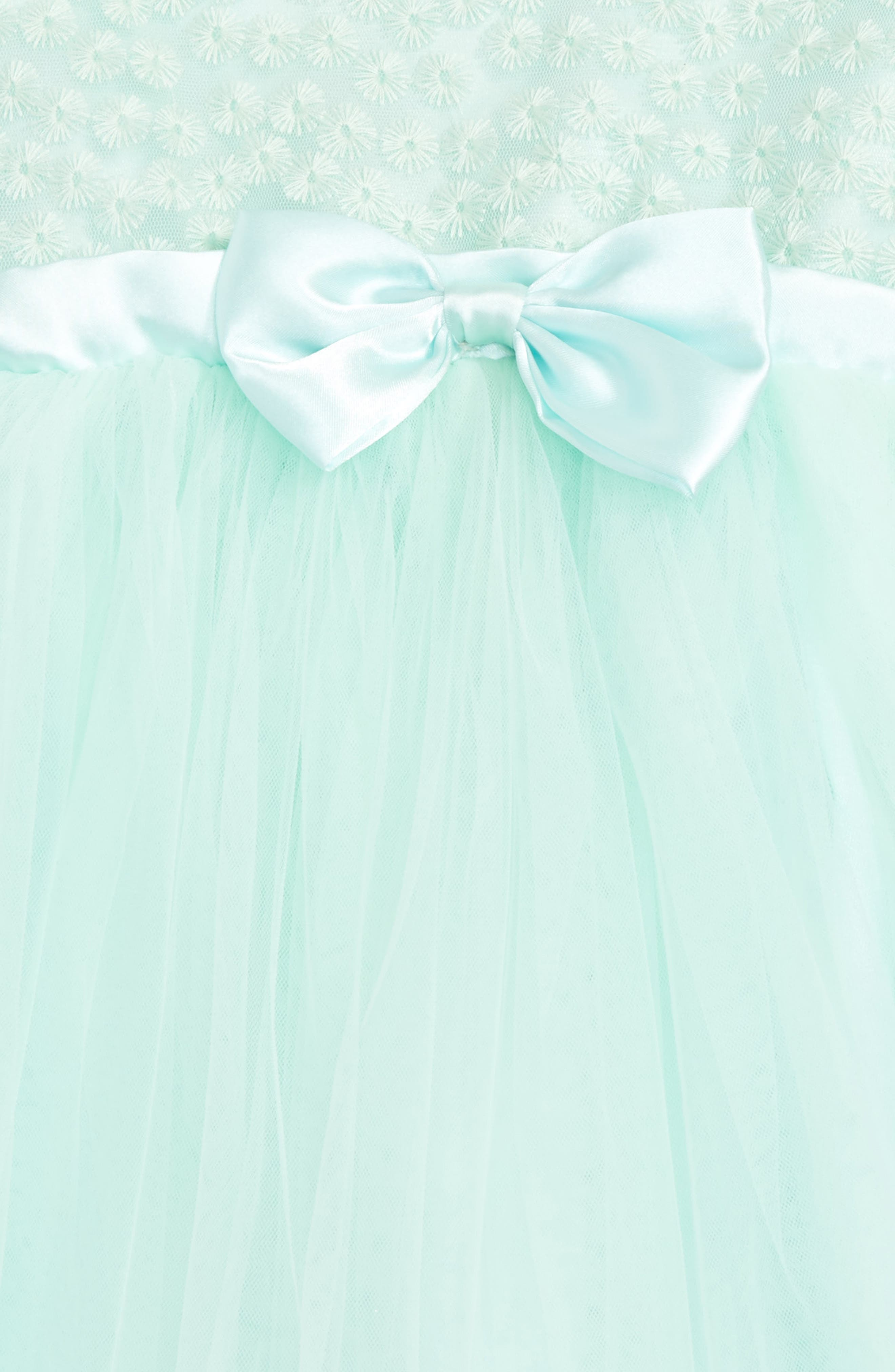 Sleeveless Tulle Dress,                             Alternate thumbnail 2, color,                             Mint