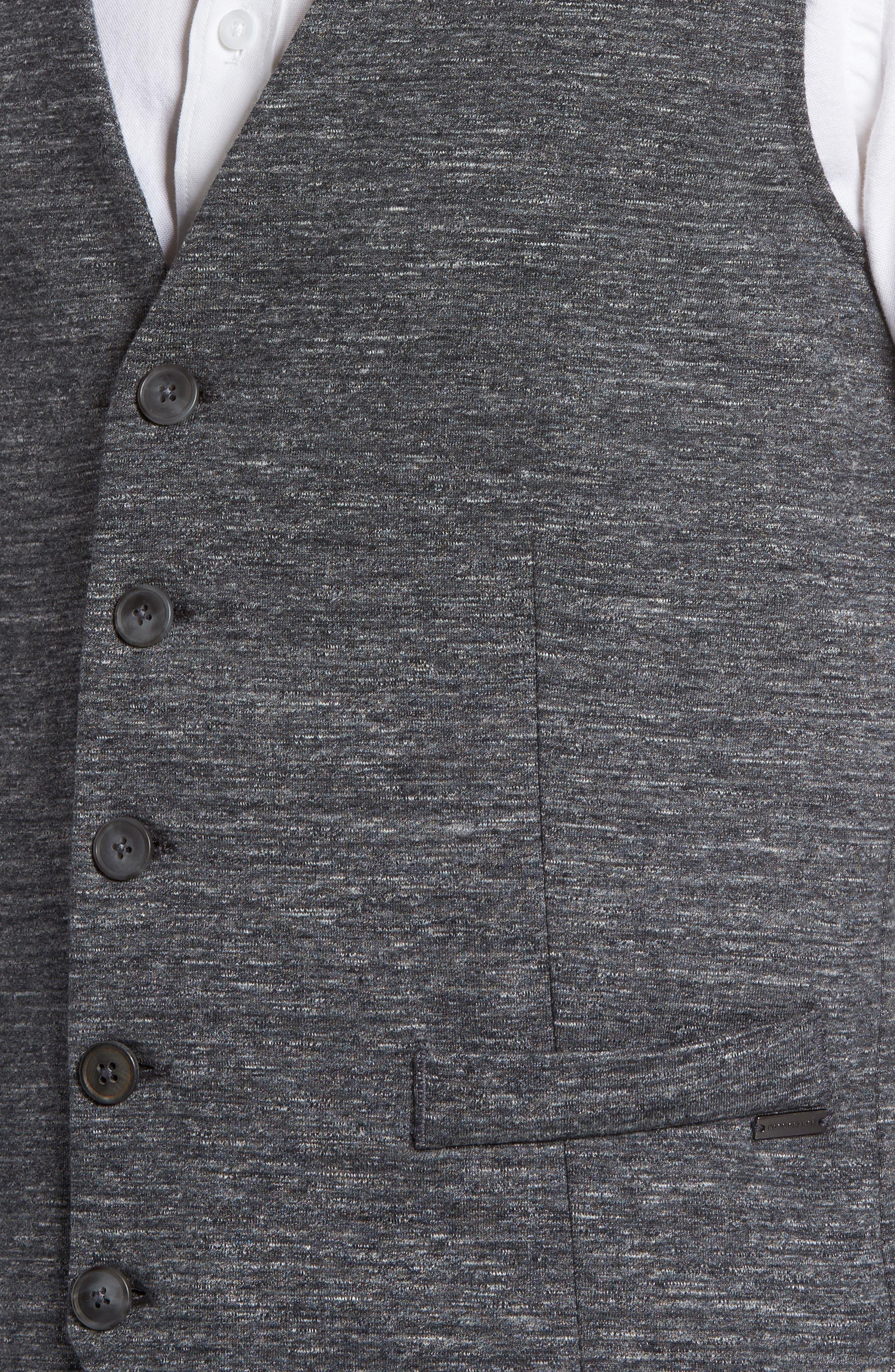 Wutang Jersey Vest,                             Alternate thumbnail 4, color,                             Light Pastel/ Grey