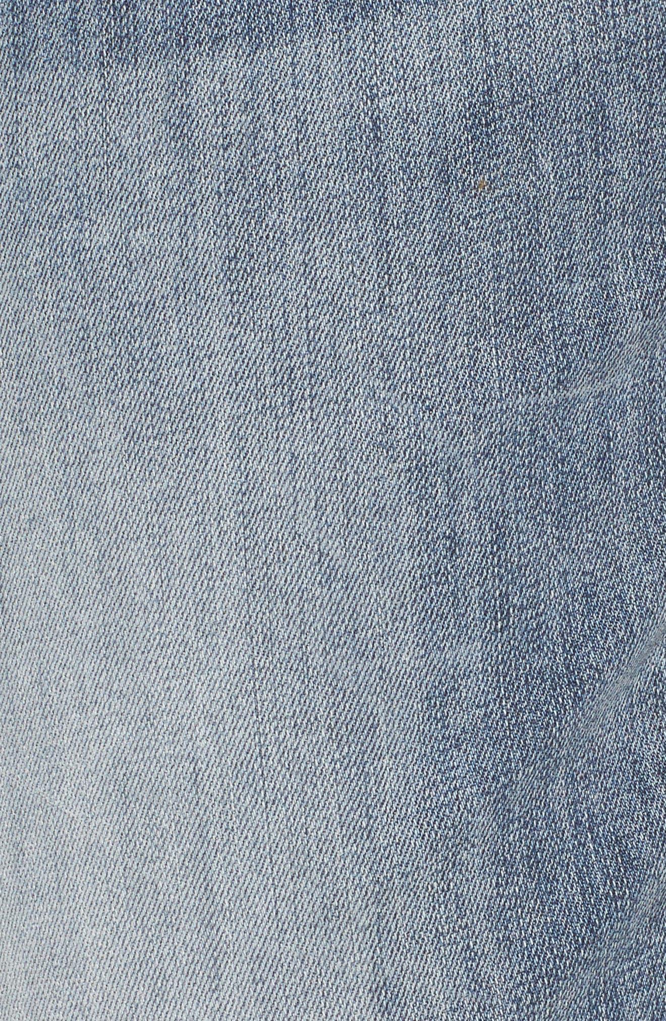 Alternate Image 5  - KUT from the Kloth Catherine Stretch Distressed Boyfriend Jeans (Regarded) (Plus Size)
