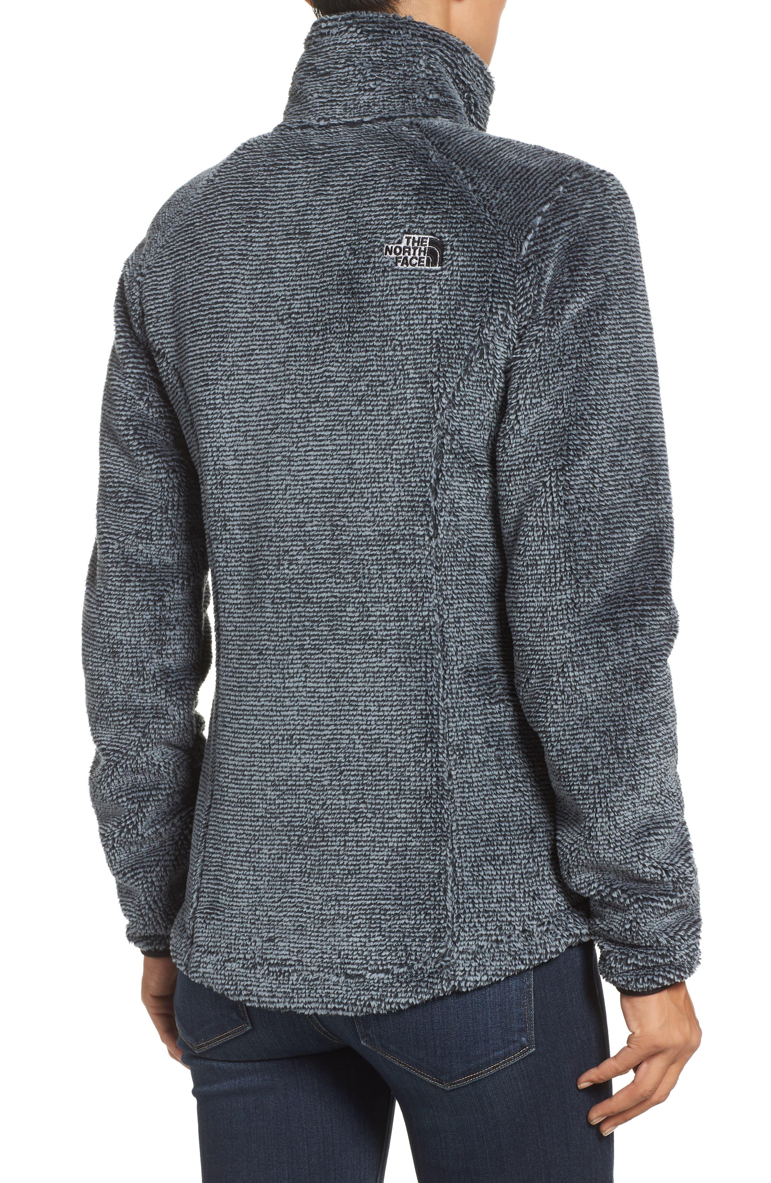 'Osito 2' Jacket,                             Alternate thumbnail 2, color,                             Tnf Black/ Mid Grey Stripe