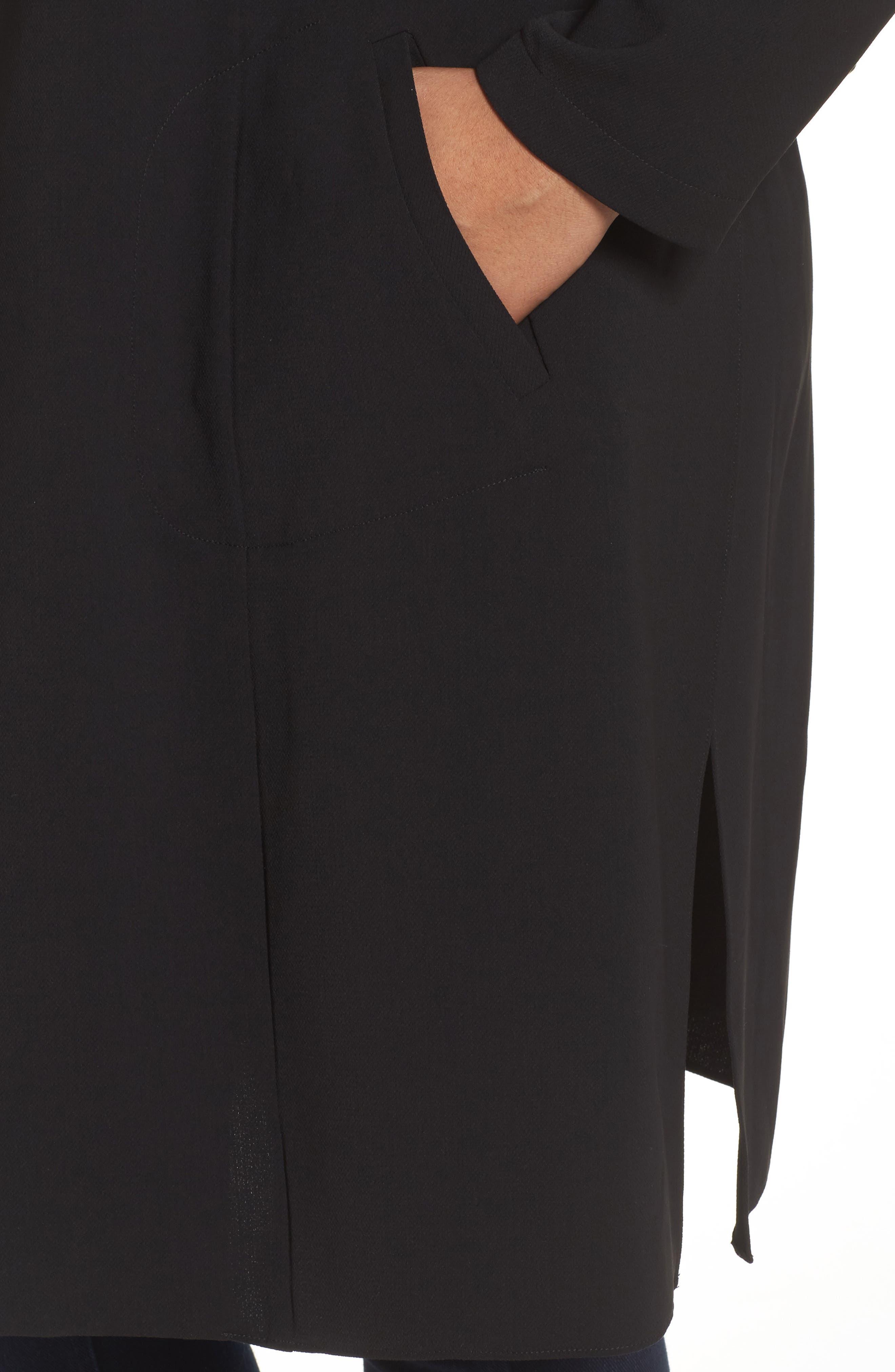 Alternate Image 4  - Vince Camuto Long Jacket (Plus Size)