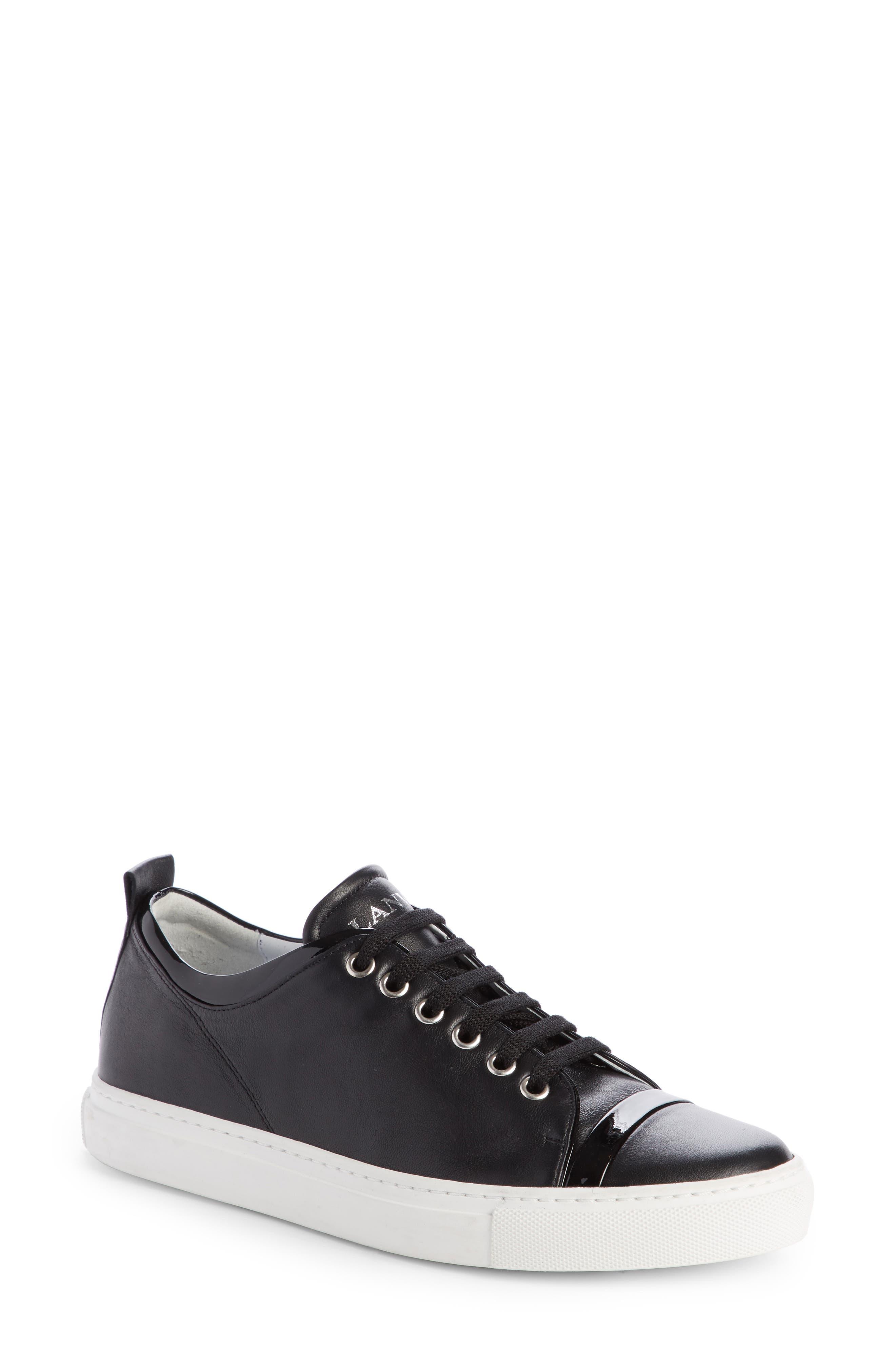 Lanvin Low Top Cap Toe Sneaker (Women)