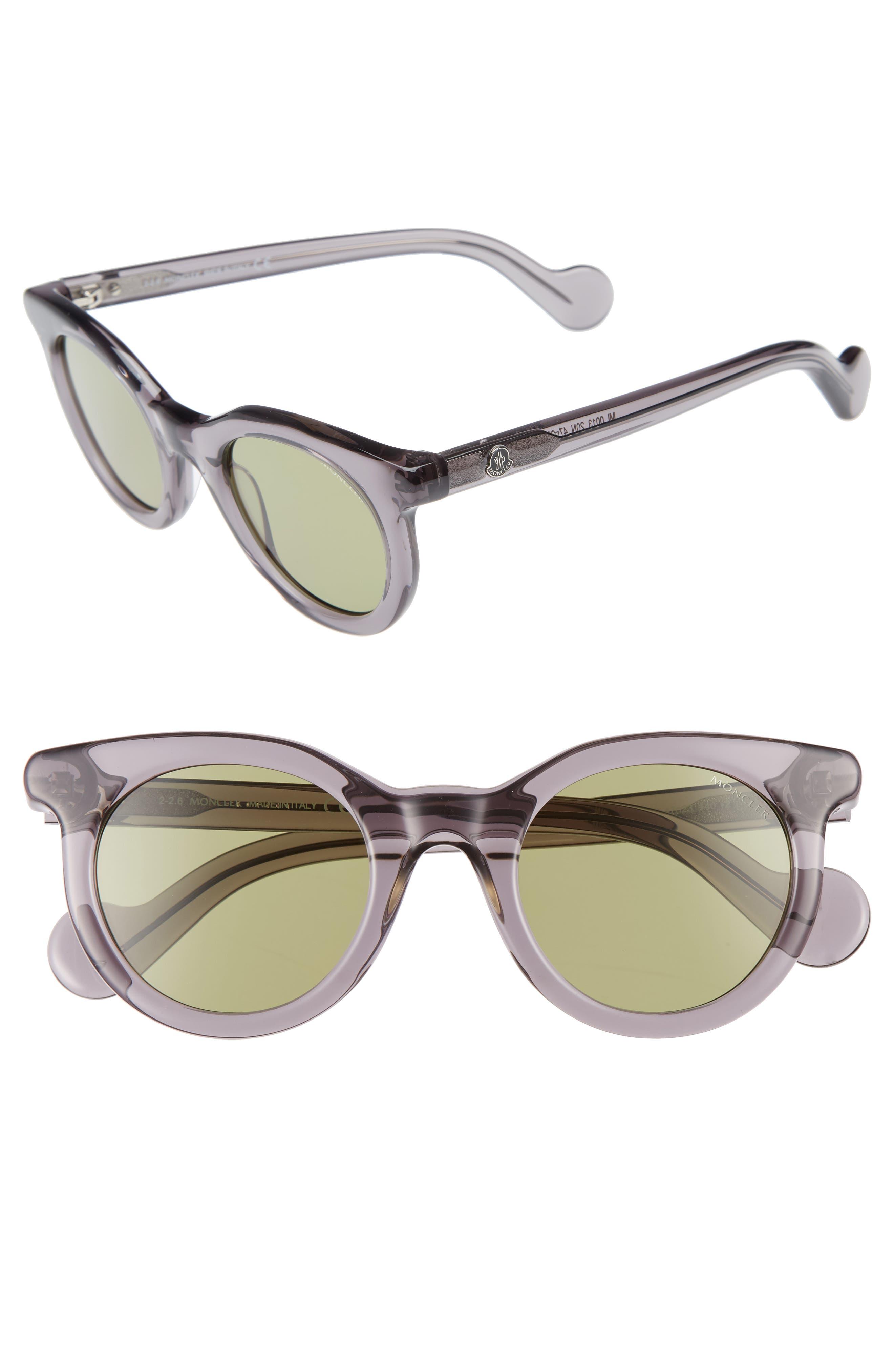 Main Image - Moncler 47mm Sunglasses