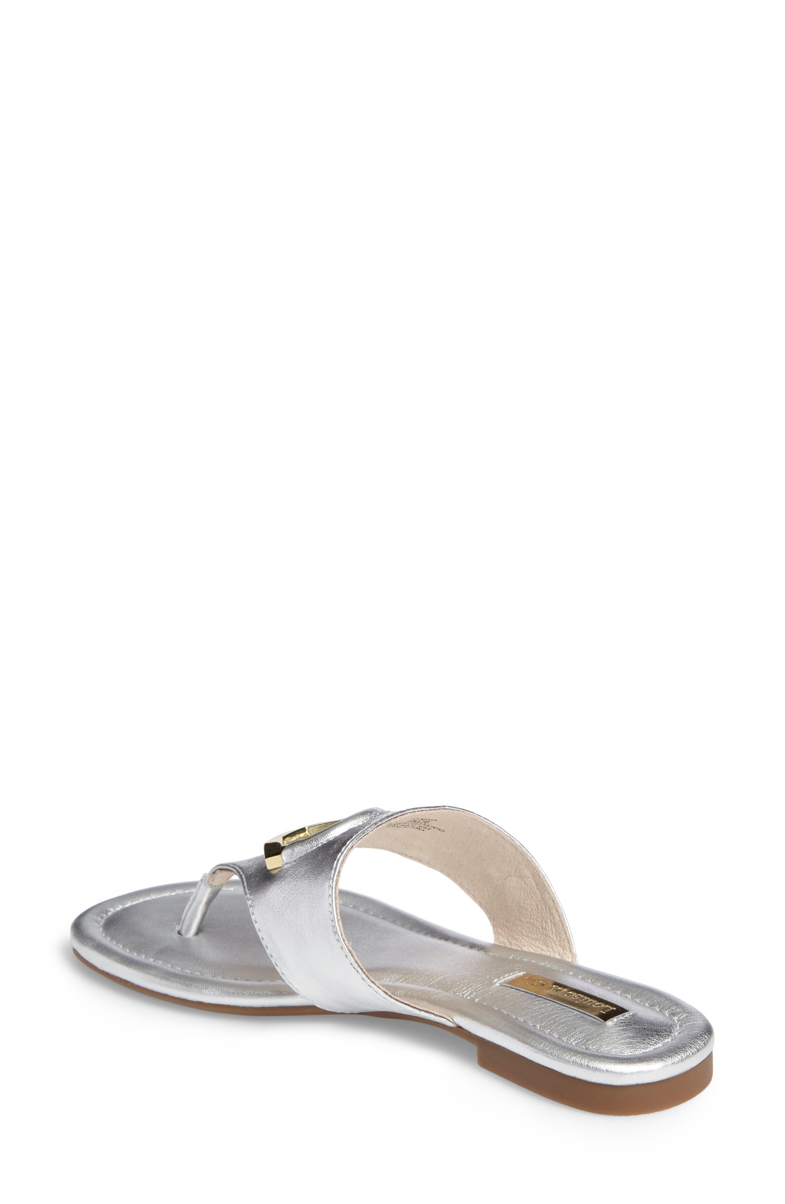 Adana Flip Flop,                             Alternate thumbnail 2, color,                             Sterling Leather