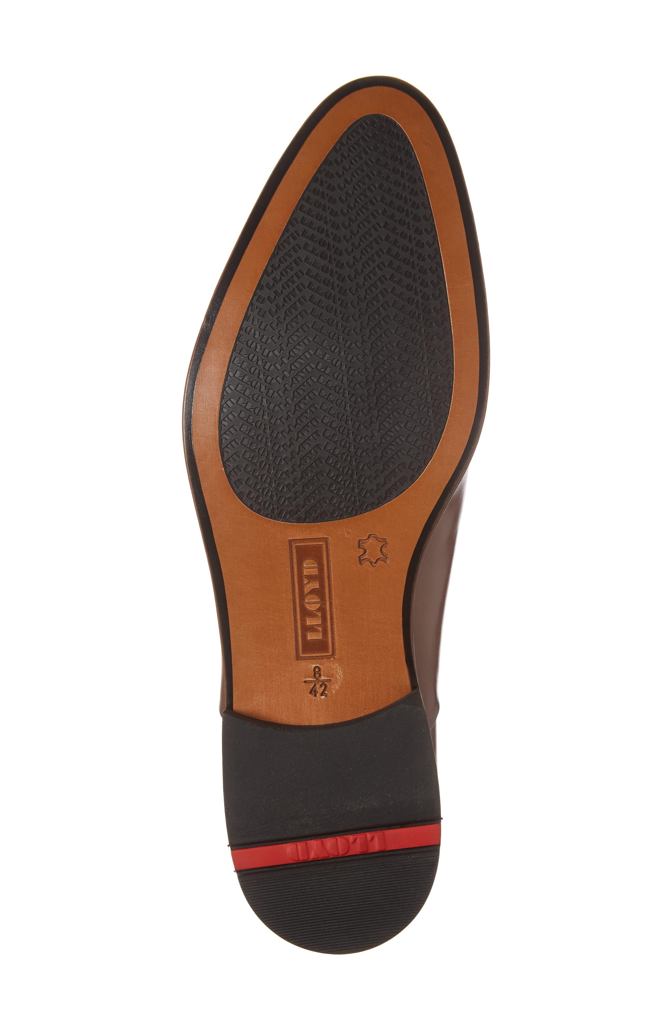 Malik Cap-Toe Oxford,                             Alternate thumbnail 6, color,                             Brown Leather