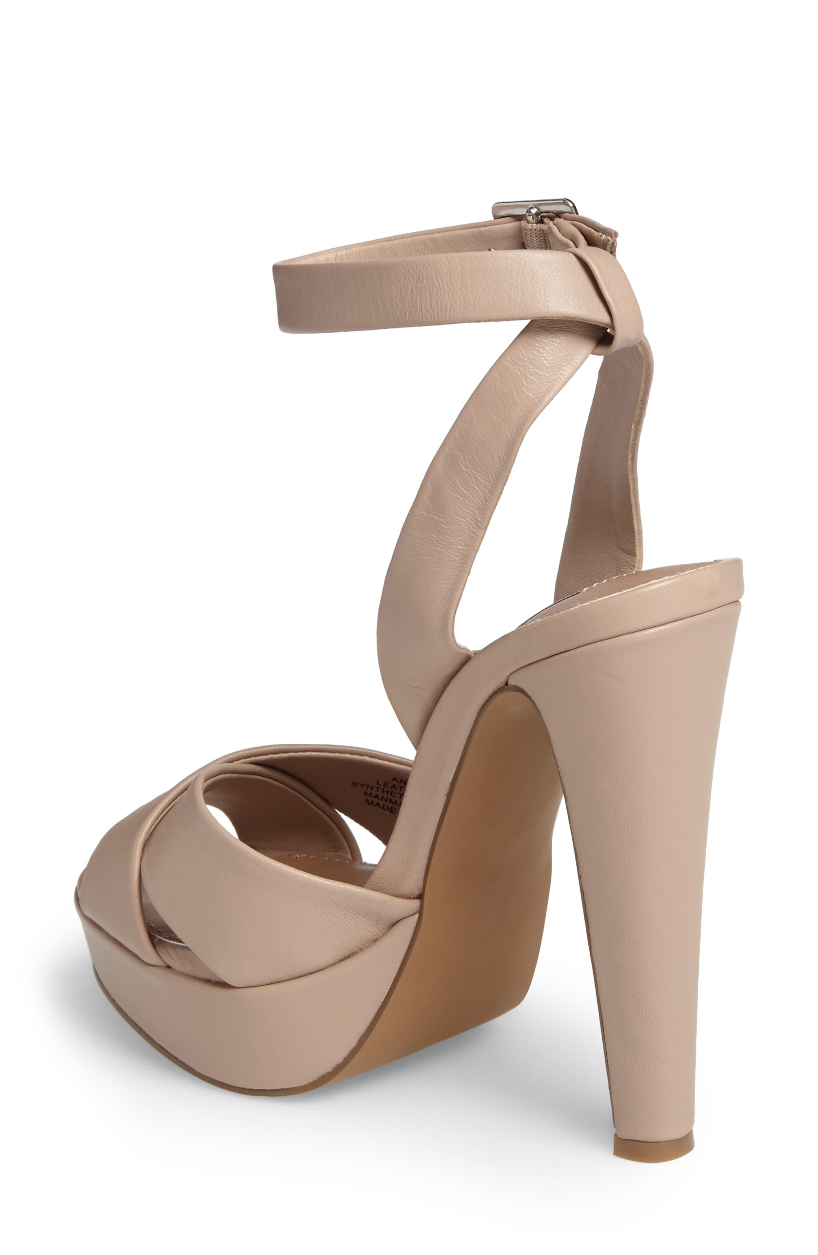 Alternate Image 2  - Steve Madden Andrea Cross Strap Platform Sandal (Women)