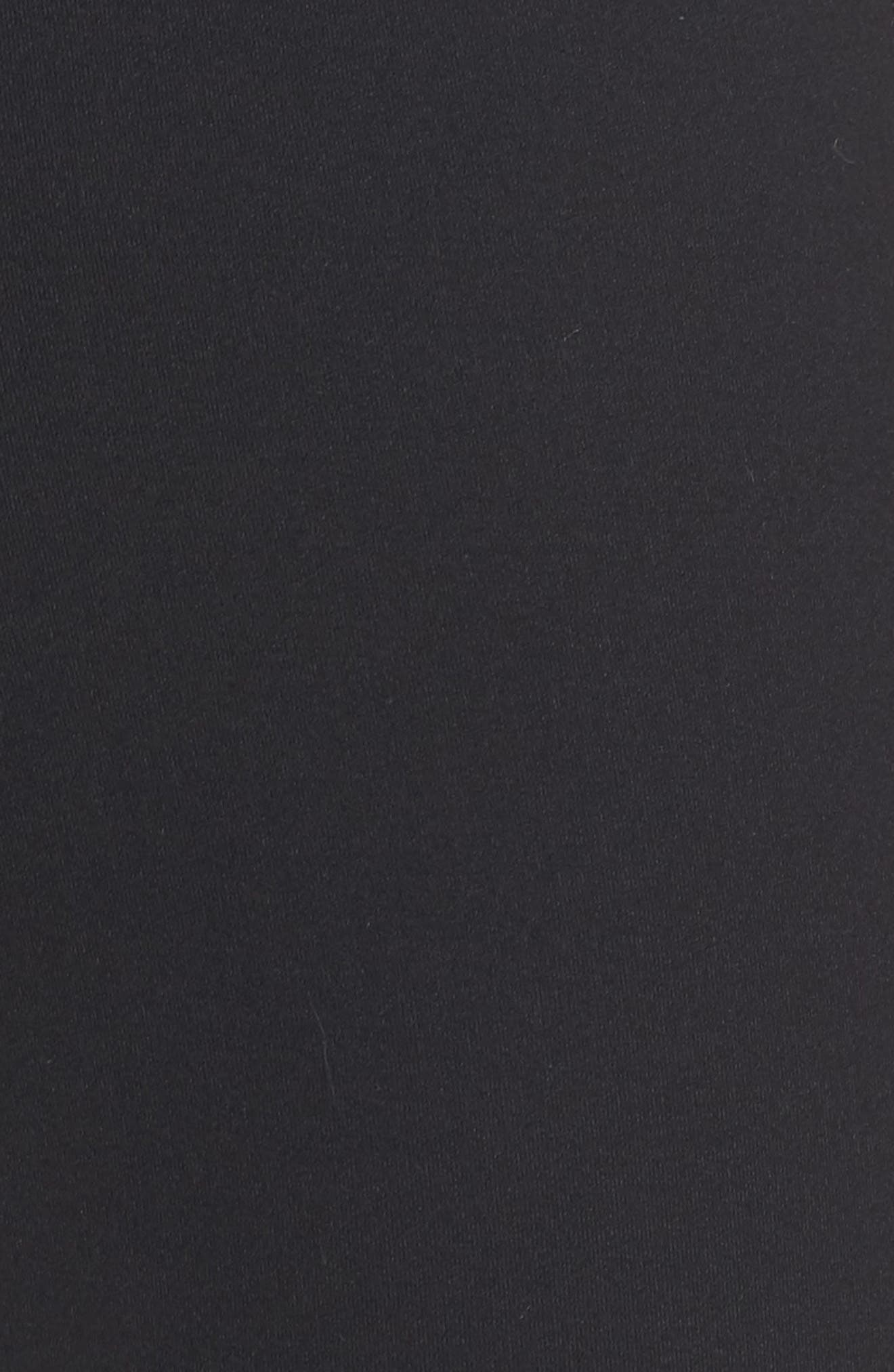 Greenlight High Waist Capris,                             Alternate thumbnail 6, color,                             Black