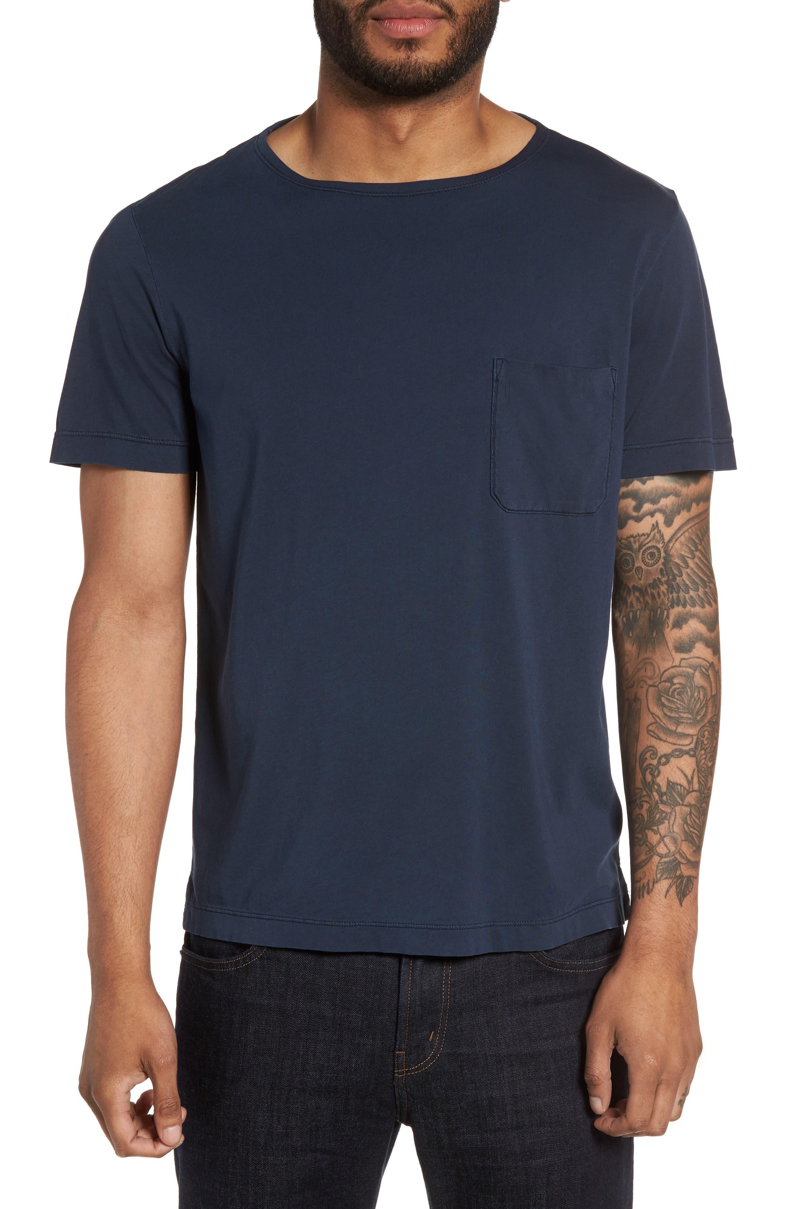 Theory Boatneck Pocket T-Shirt
