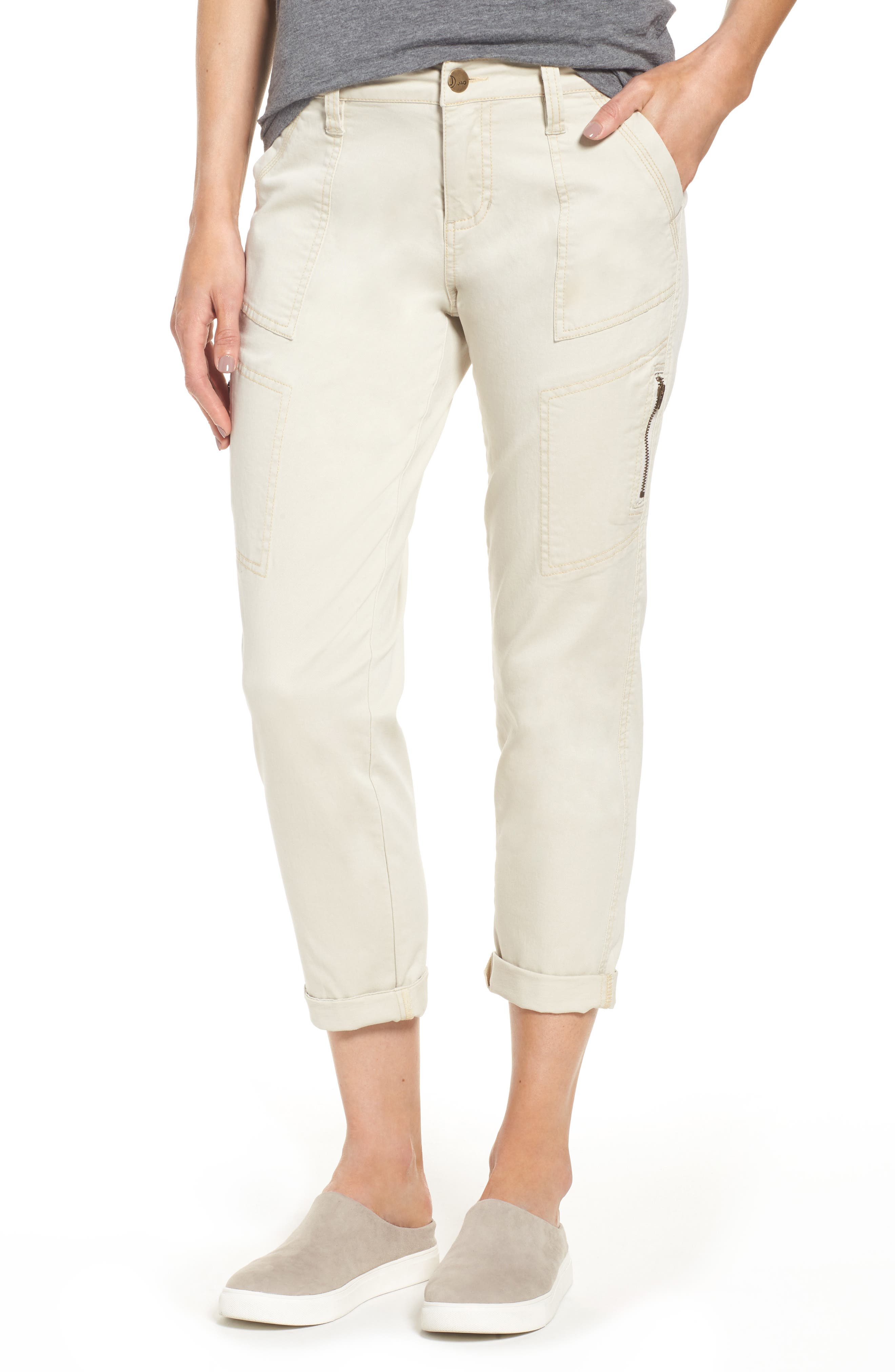 Gable Stretch Twill Utility Pants,                             Main thumbnail 1, color,                             Stone