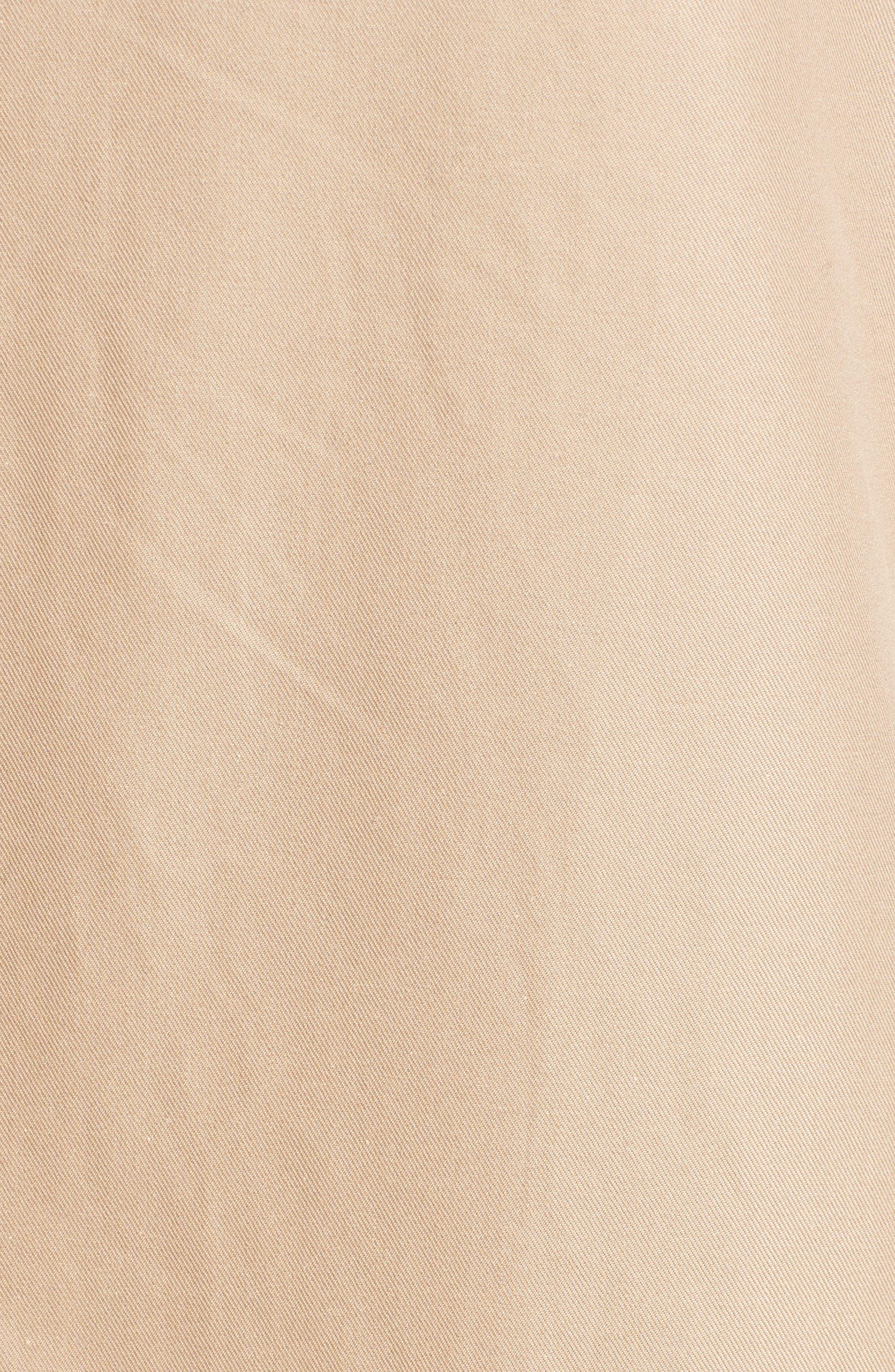 Alternate Image 3  - A.W.A.K.E. Oversized Cotton Trench Coat