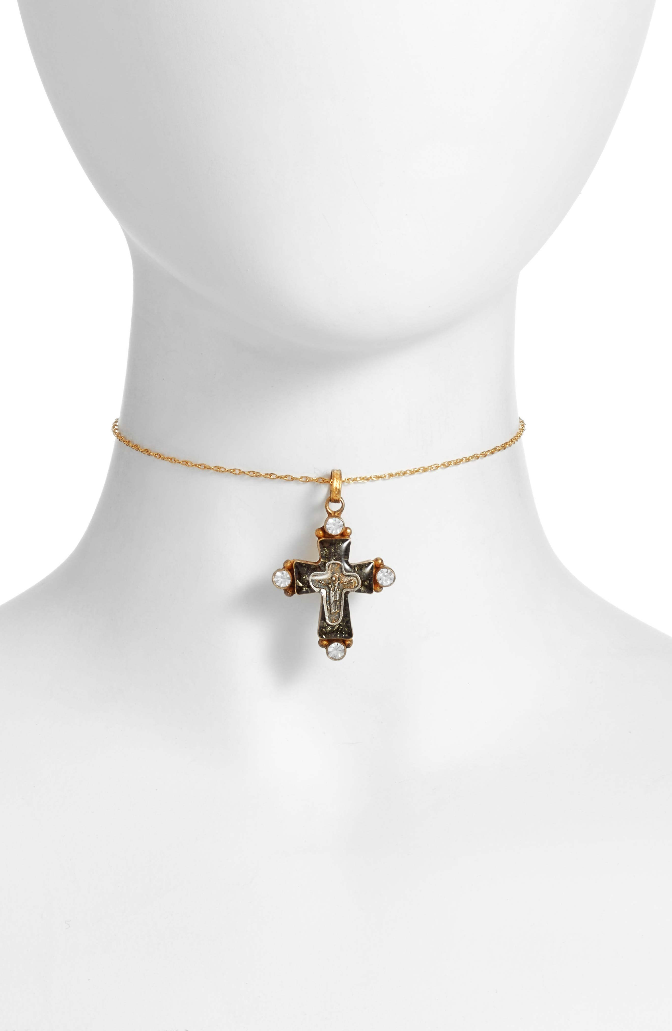 Santa Monica Choker,                             Main thumbnail 1, color,                             Gold