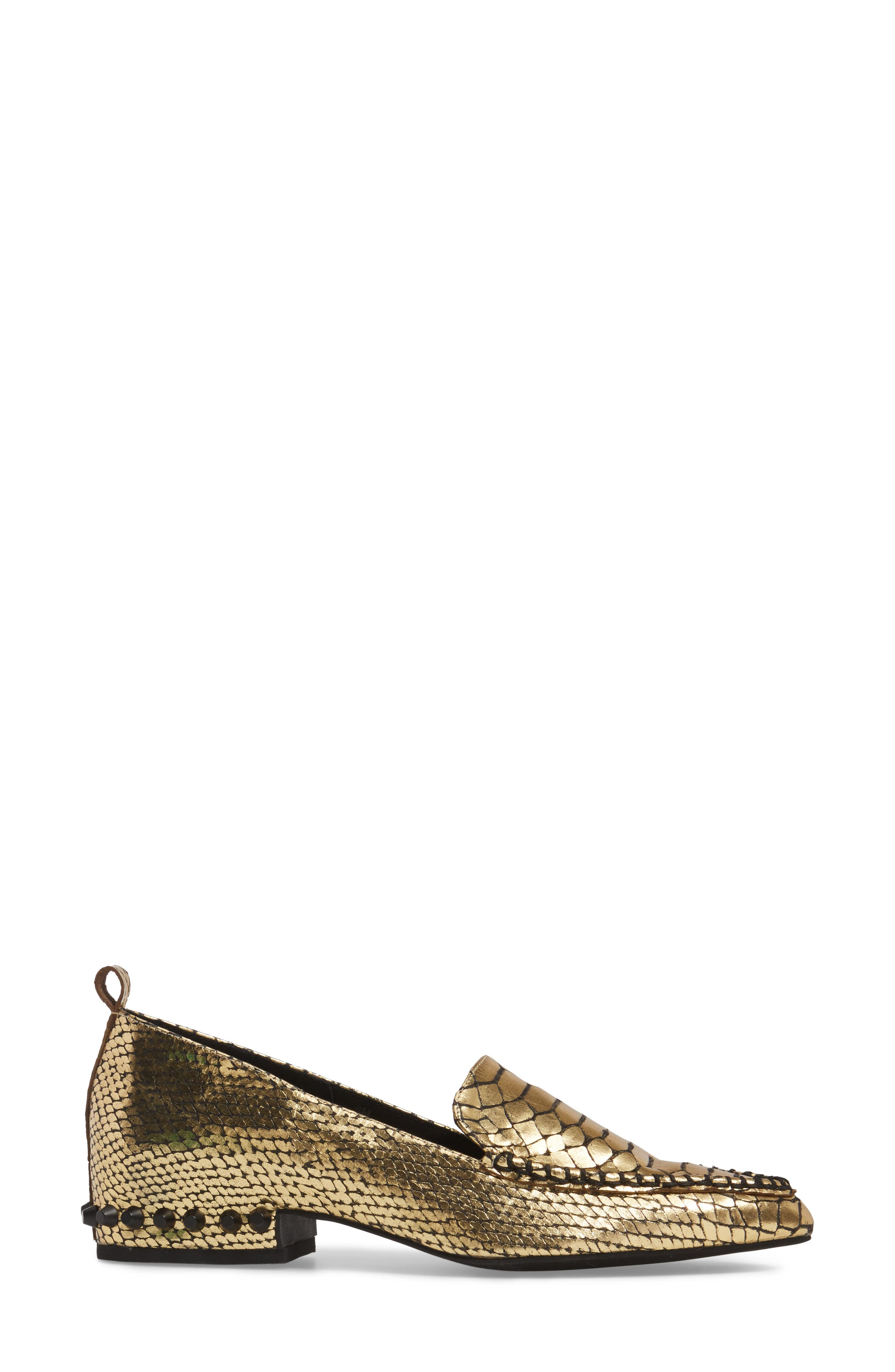 Alternate Image 3  - Jeffrey Campbell Barnett Studded Loafer (Women)