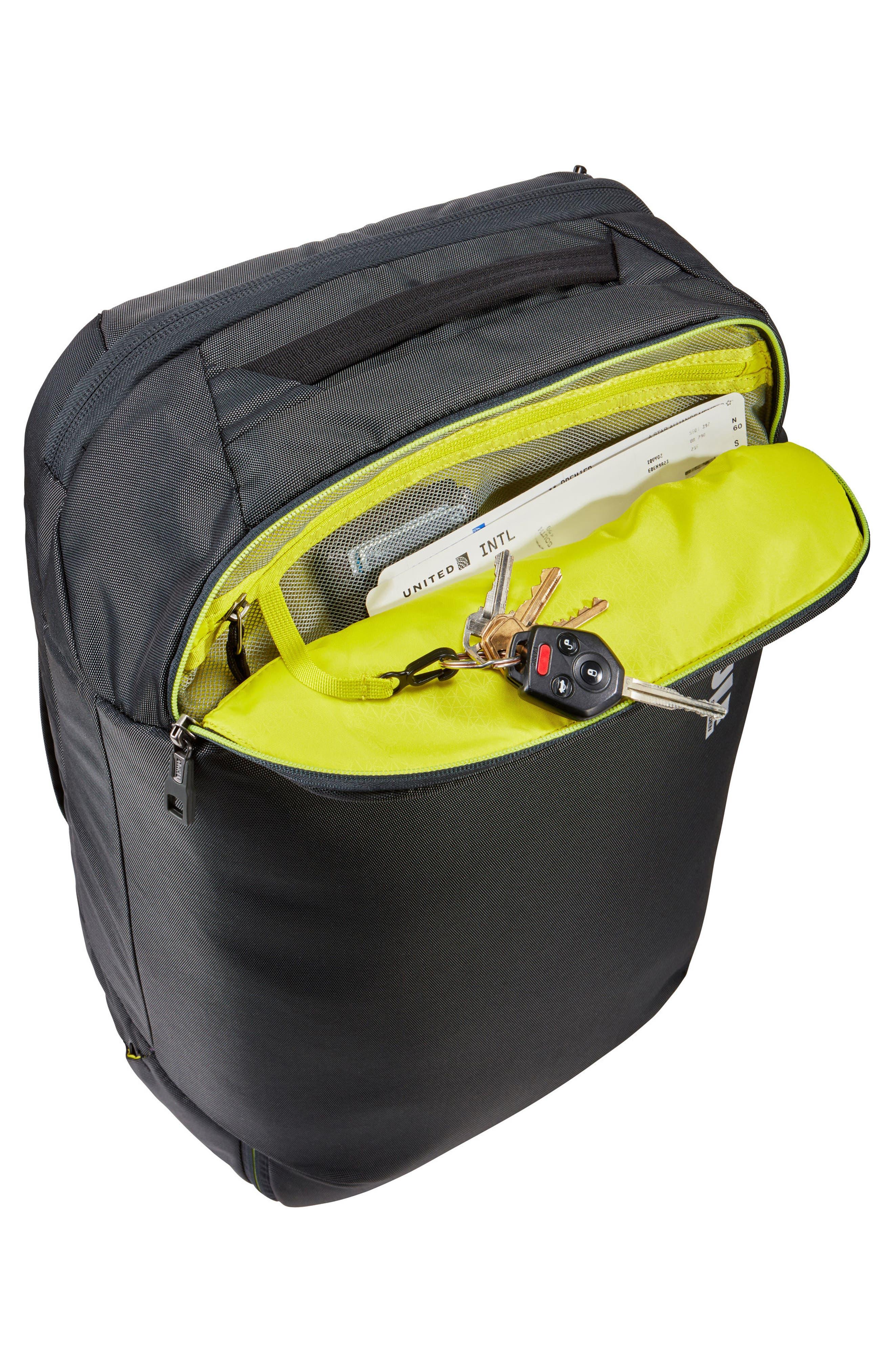 Subterra 40-Liter Convertible Duffel Bag,                             Alternate thumbnail 5, color,                             Dark Shadow