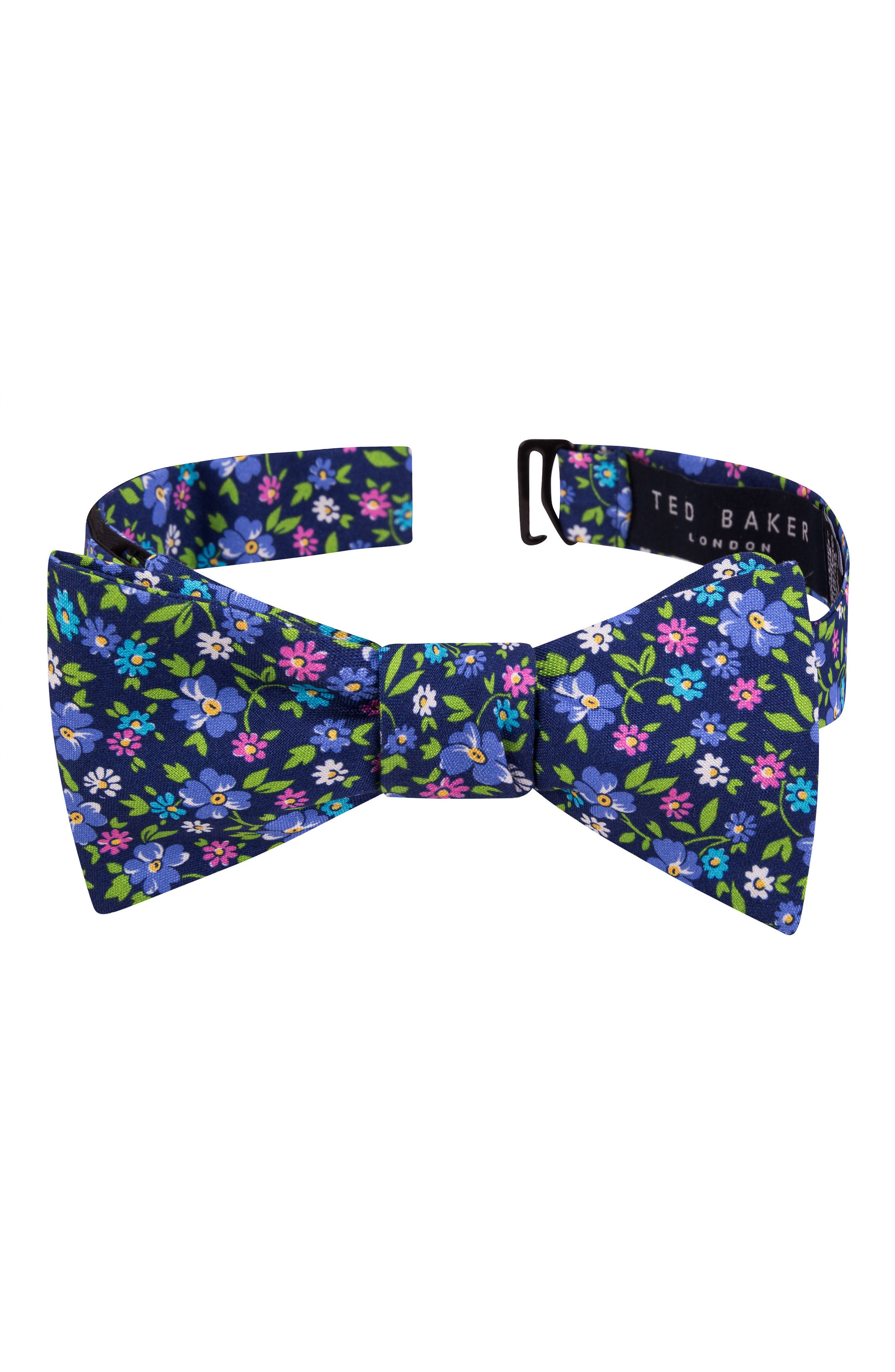 Alternate Image 1 Selected - Ted Baker London Floral Silk Bow Tie