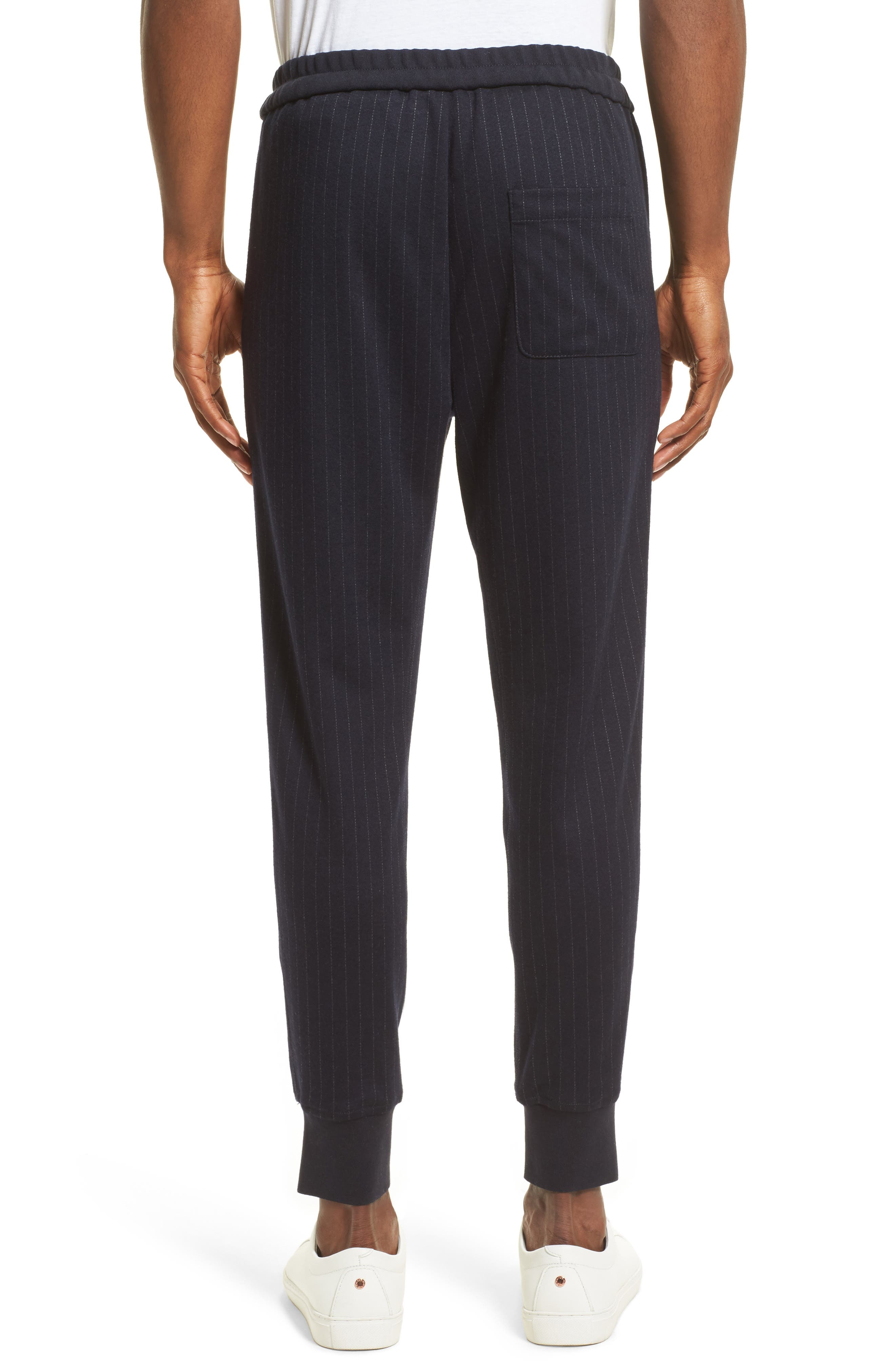 Alternate Image 2  - 3.1 Phillip Lim Pinstripe Tapered Jogger Pants