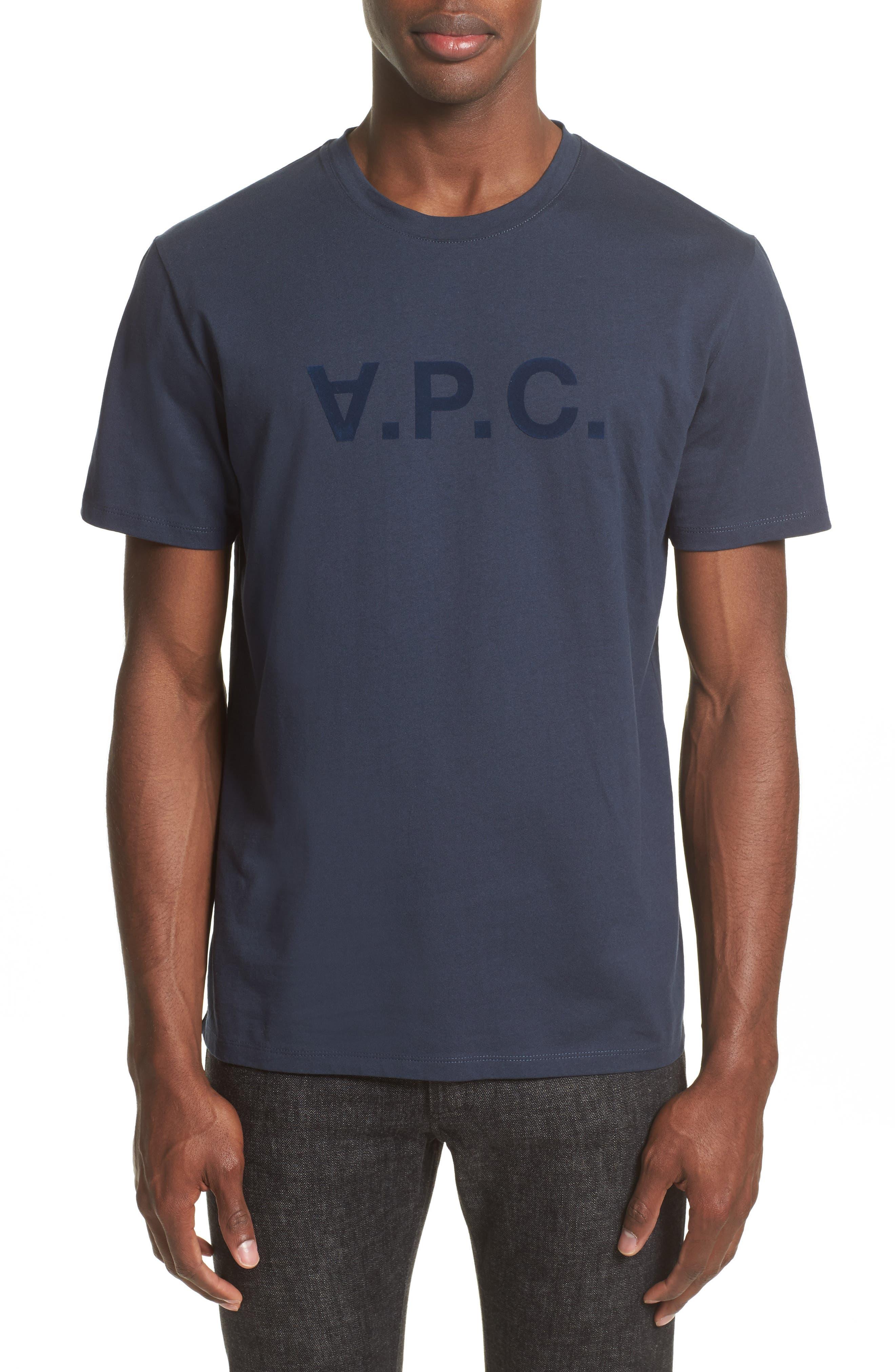 Logo T-Shirt,                         Main,                         color, Dark Navy