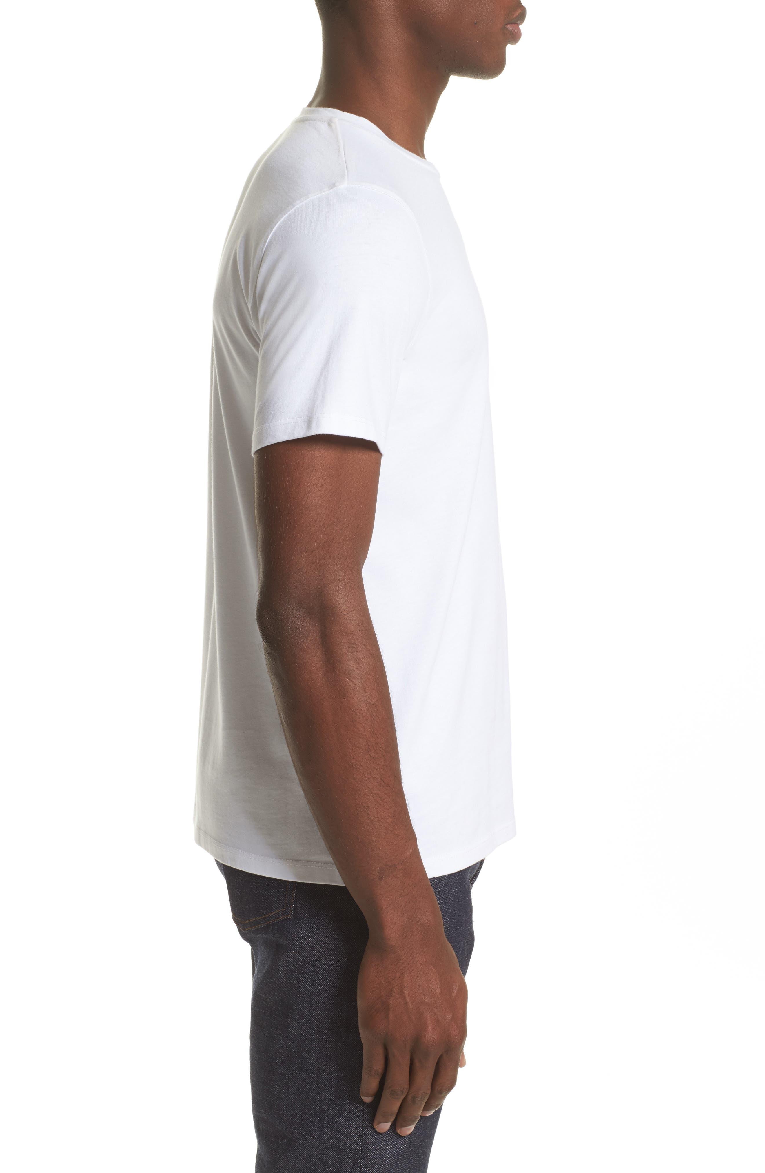 Alternate Image 3  - A.P.C. Silver Lake T-Shirt