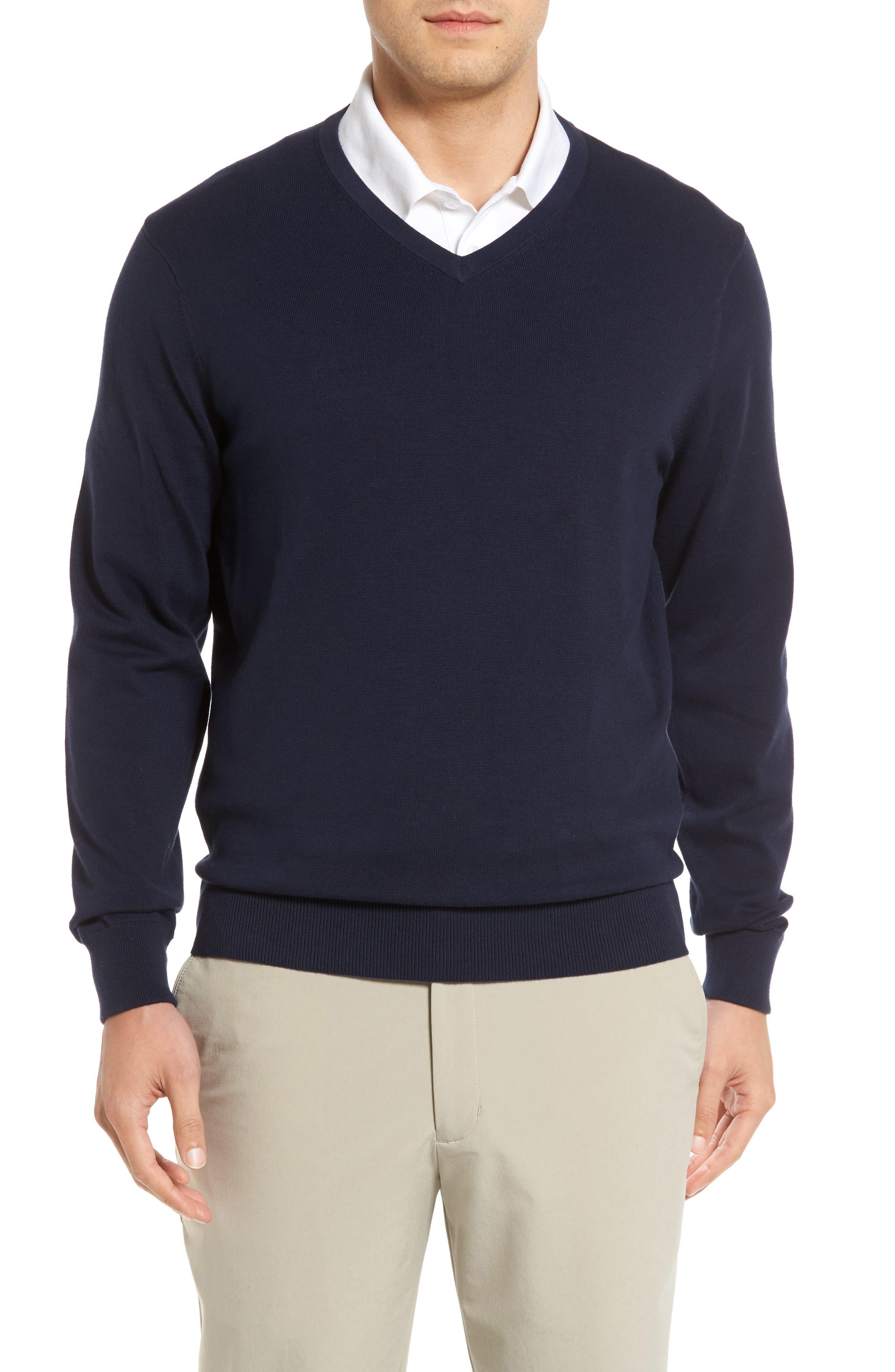 CUTTER & BUCK Lakemont V-Neck Sweater