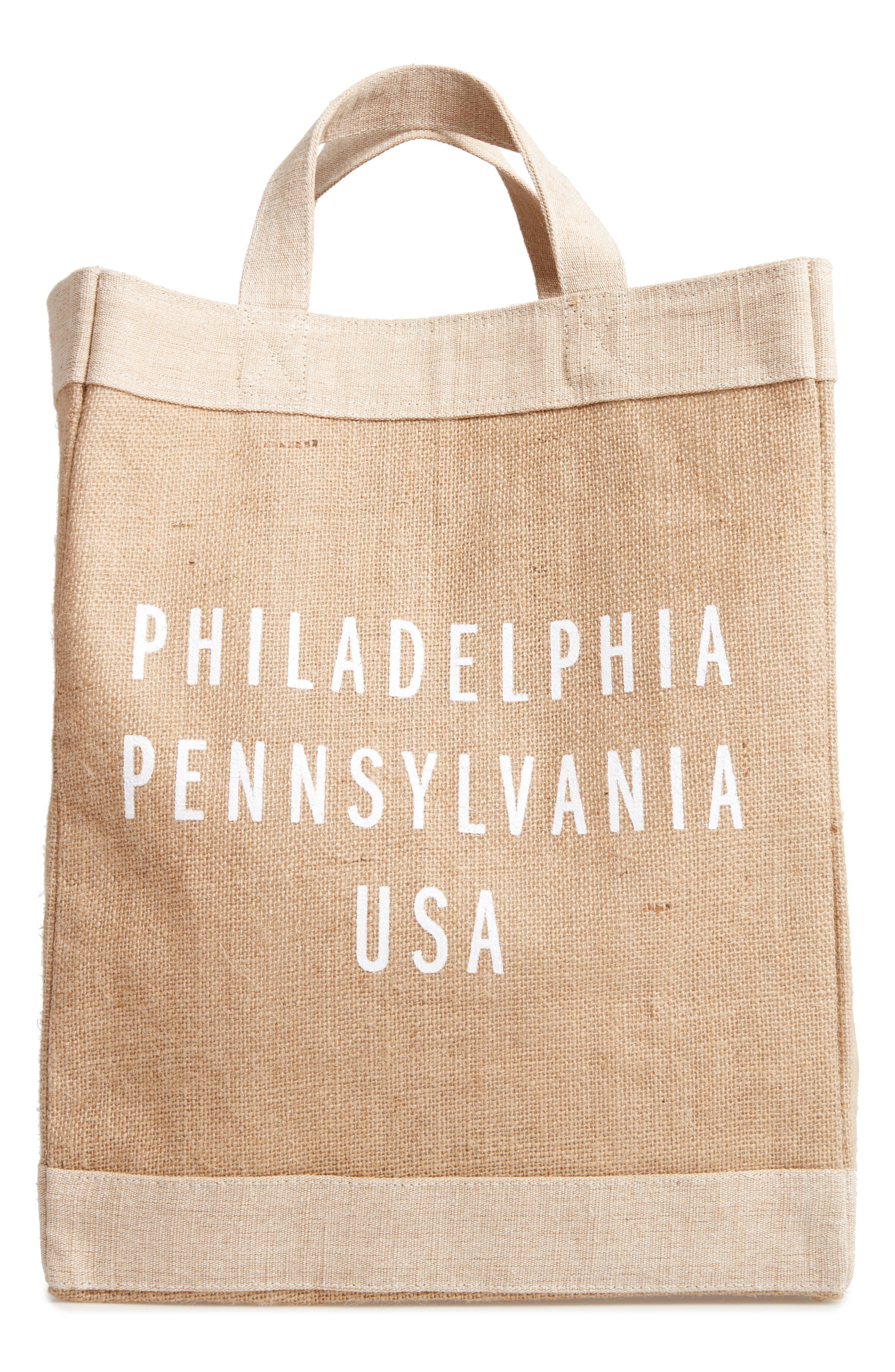 APOLIS Philadelphia Simple Market Bag
