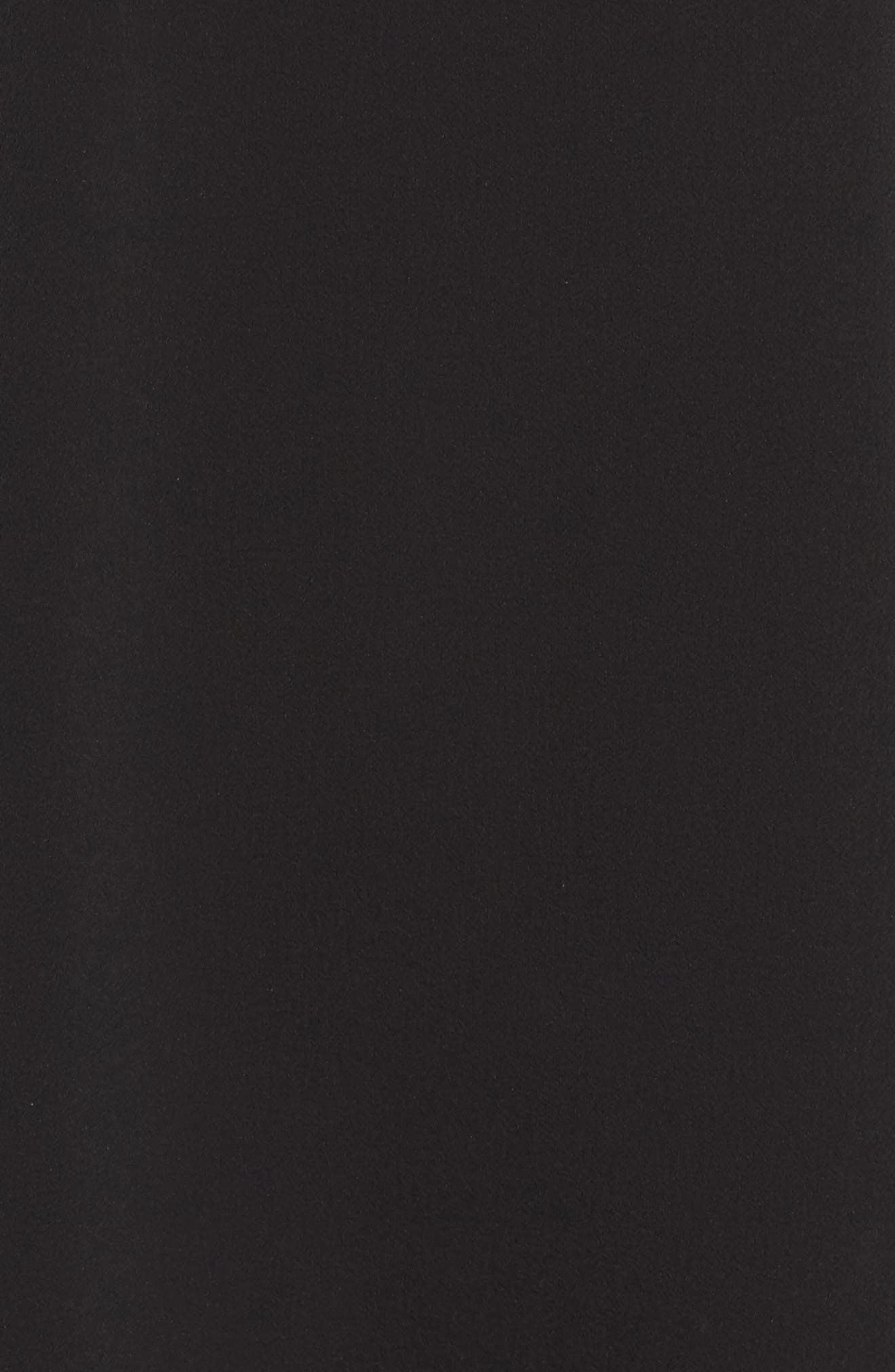 Mary & Maybel Swing Dress,                             Alternate thumbnail 5, color,                             Black