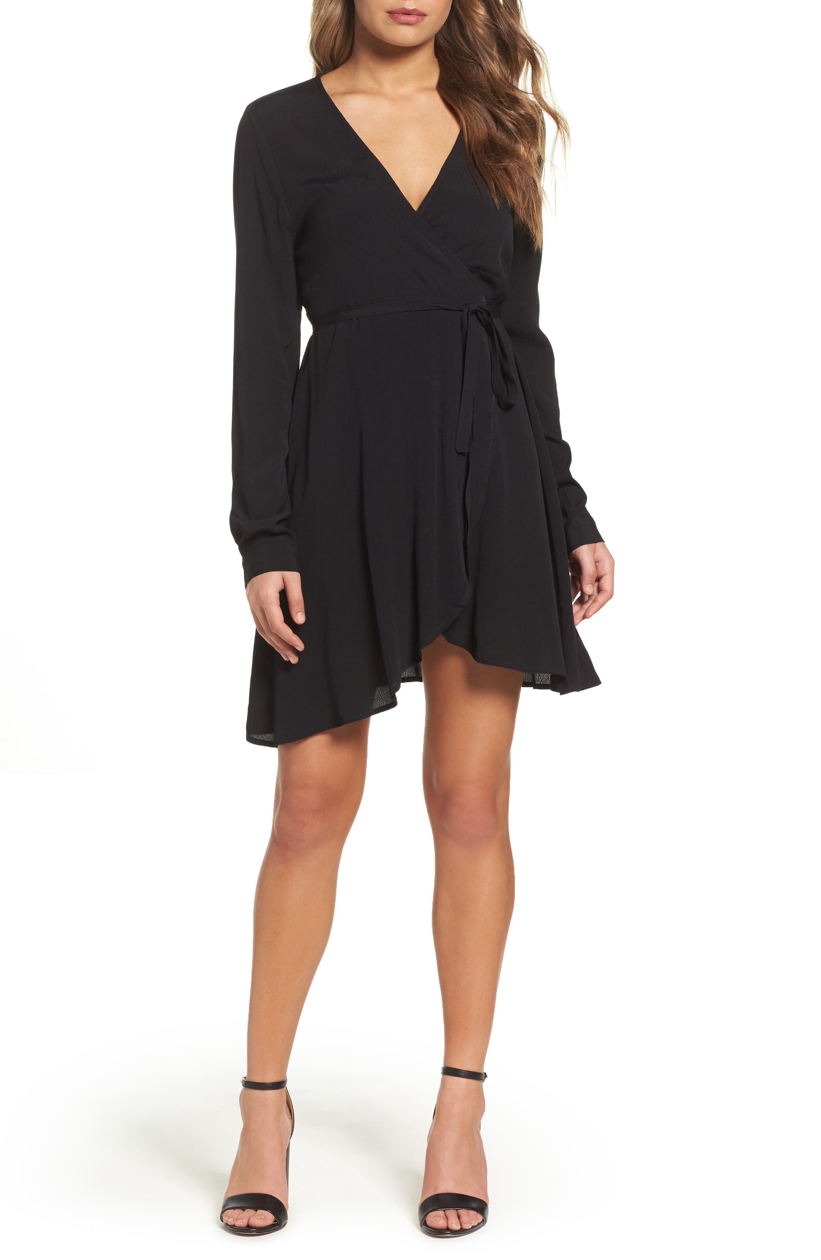 KNOT SISTERS Thorn Wrap Dress