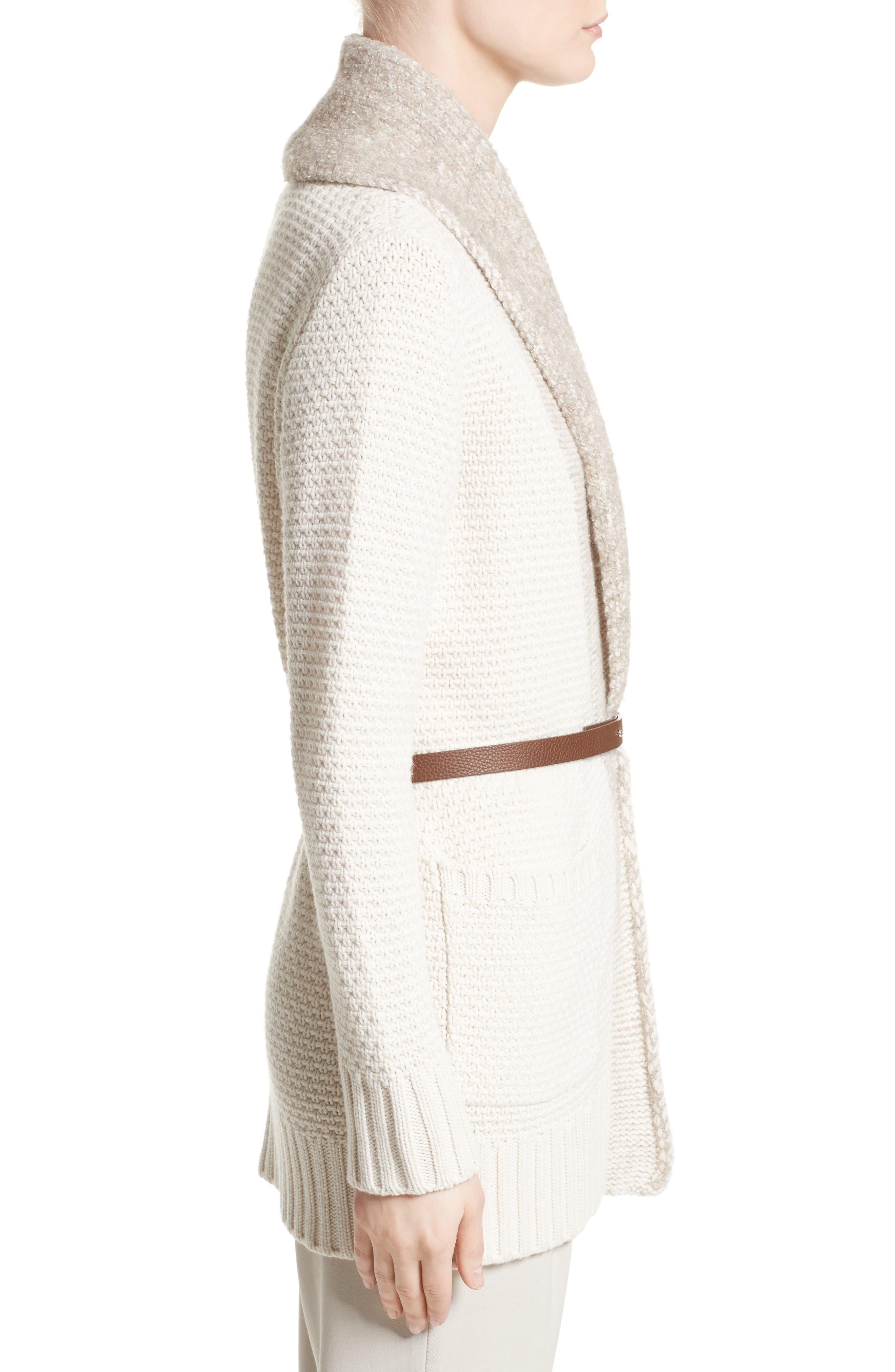 Alternate Image 5  - Fabiana Filippi Wool, Silk & Cashmere Knit Cardigan